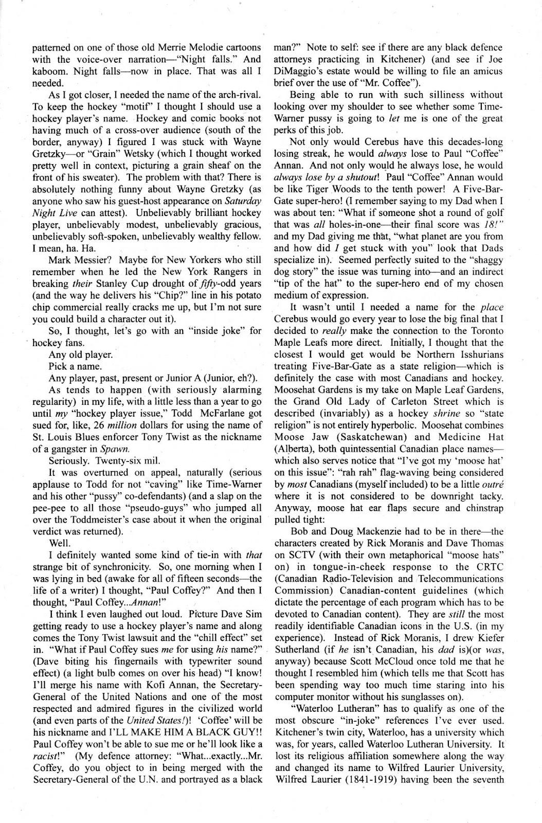 Cerebus Issue #267 #266 - English 25