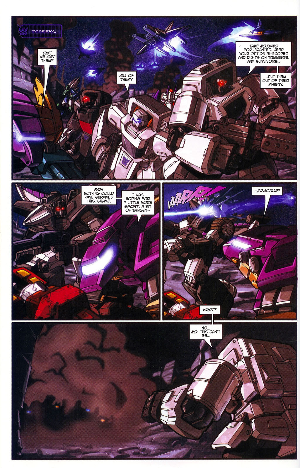 """Read online Transformers War Within: """"The Age of Wrath"""" comic -  Issue #1 - 20"""