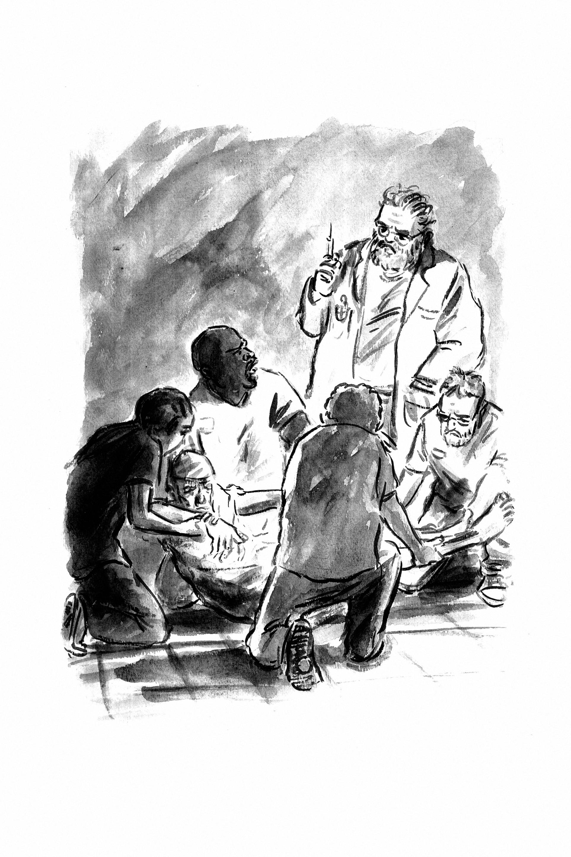 Read online Tumor comic -  Issue # TPB - 221