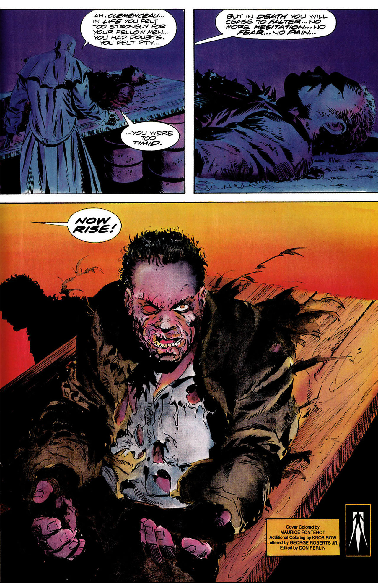 Read online Shadowman (1992) comic -  Issue #8 - 22