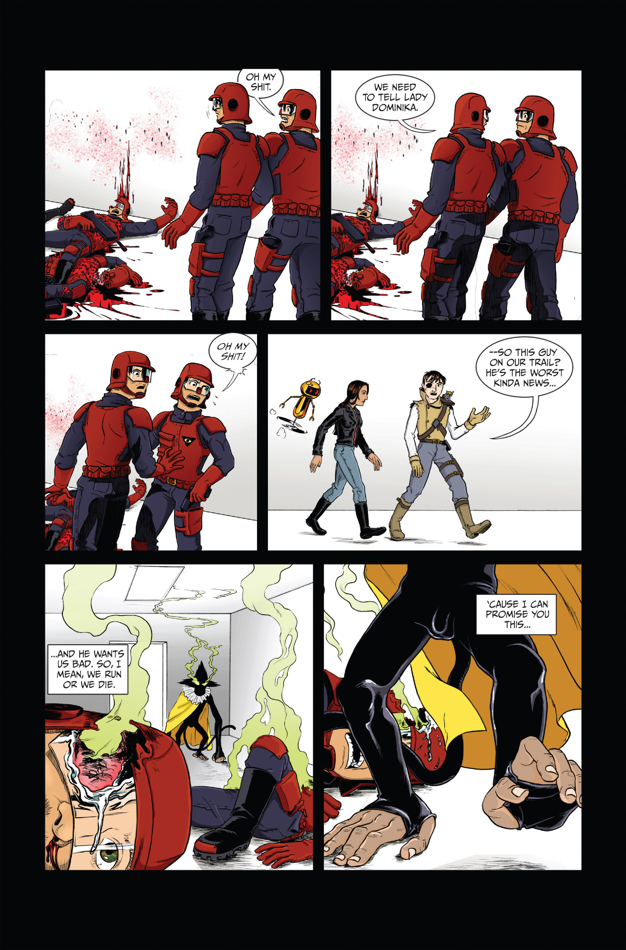 Read online Ehmm Theory: Everything & Small Doses comic -  Issue #1 - 25