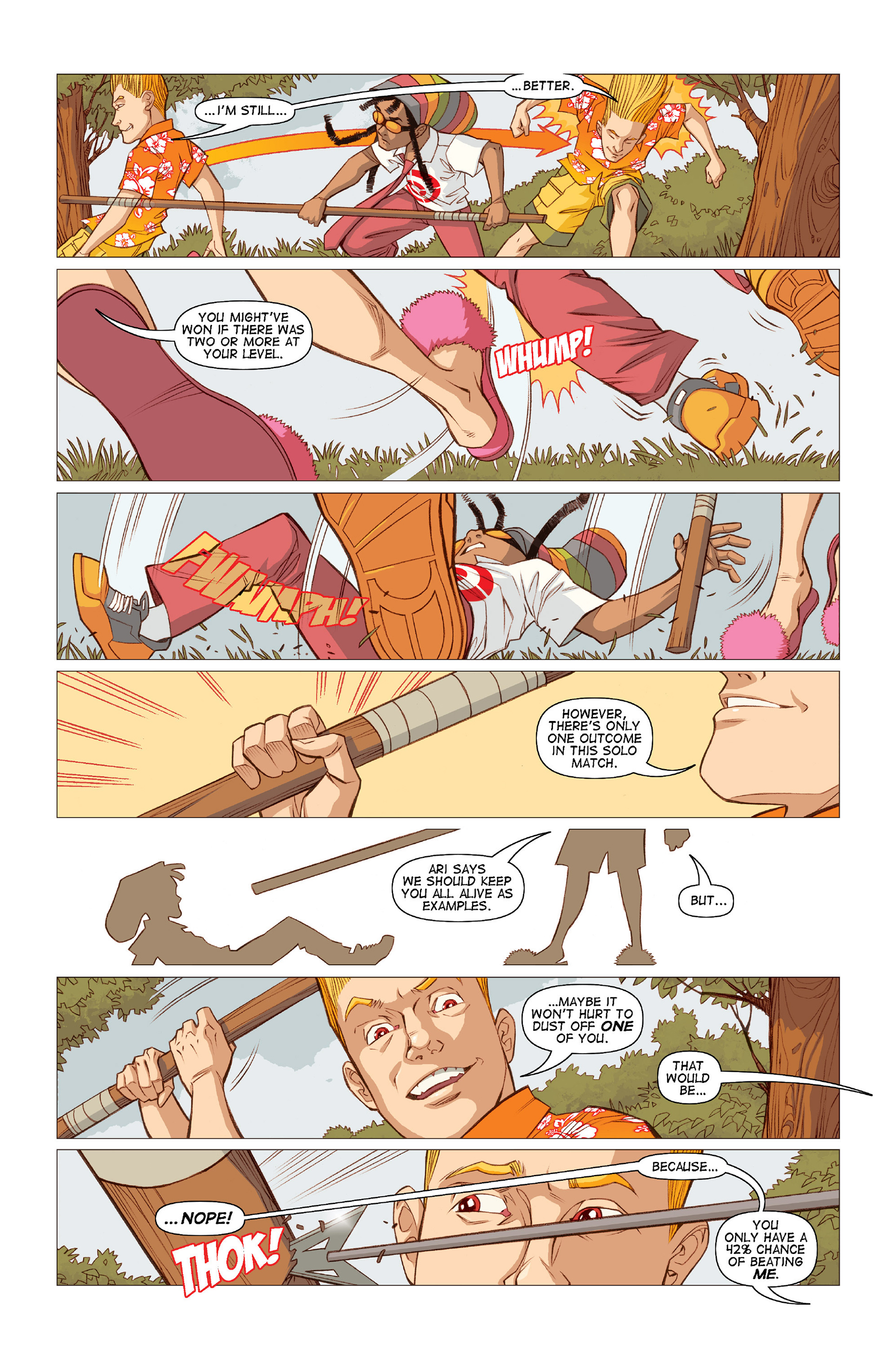 Read online Five Weapons comic -  Issue #10 - 10
