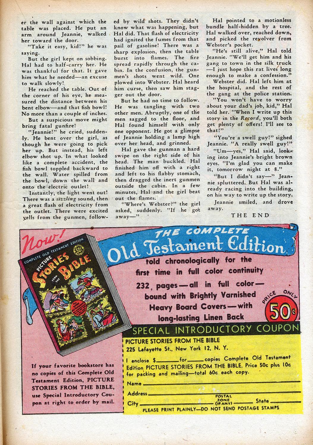 Read online Sensation (Mystery) Comics comic -  Issue #33 - 33