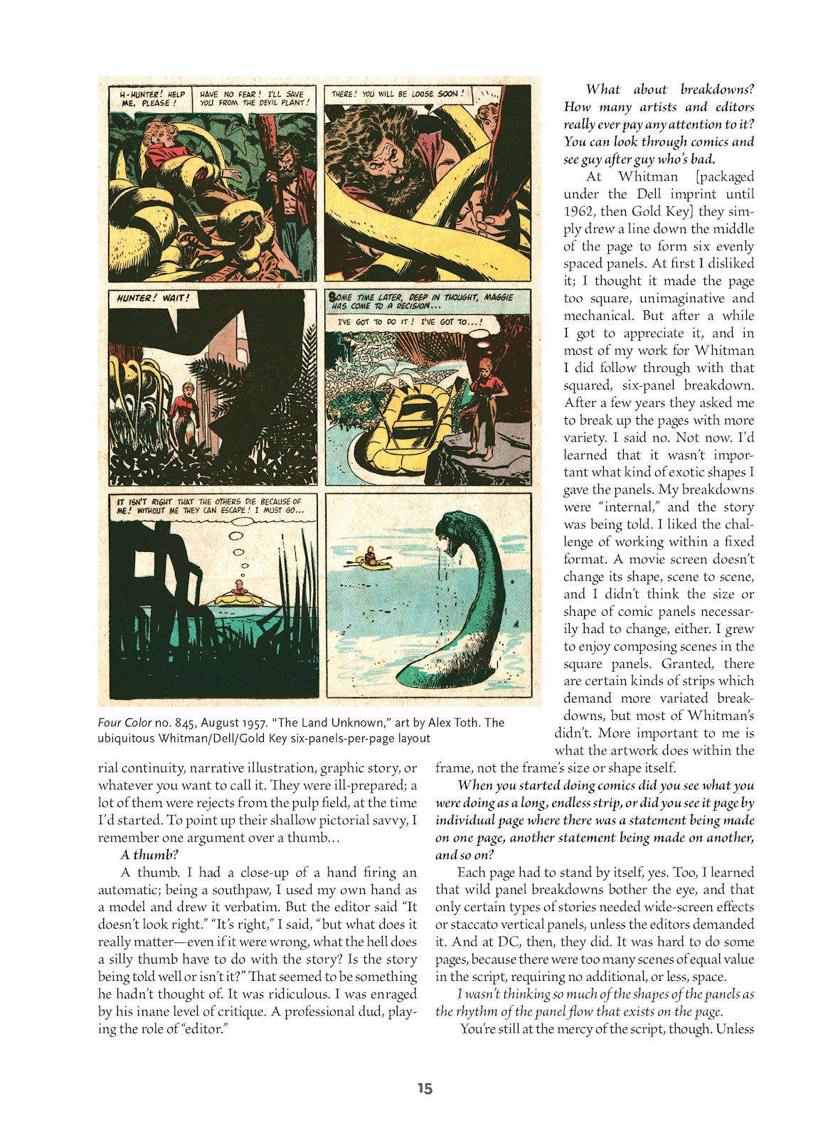 Read online Setting the Standard: Comics by Alex Toth 1952-1954 comic -  Issue # TPB (Part 1) - 14