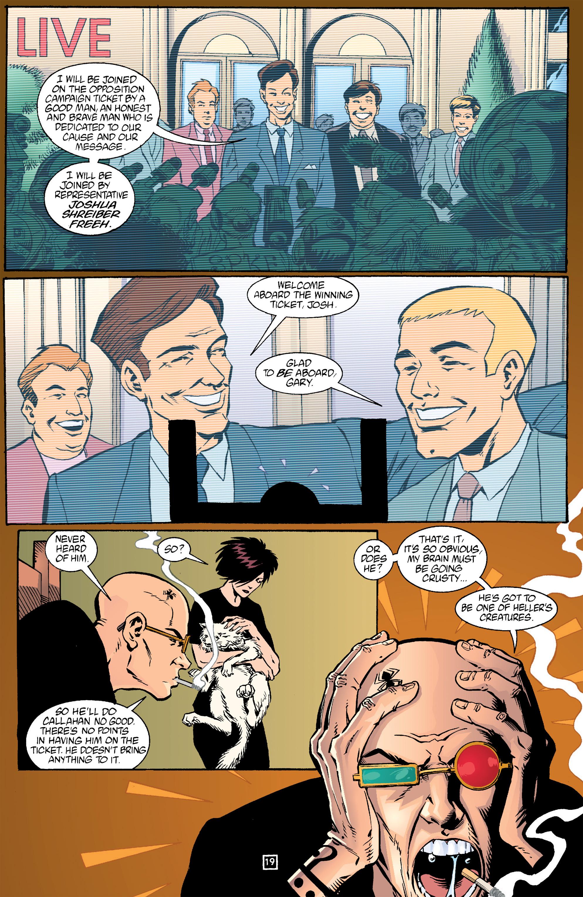 Read online Transmetropolitan comic -  Issue #17 - 20