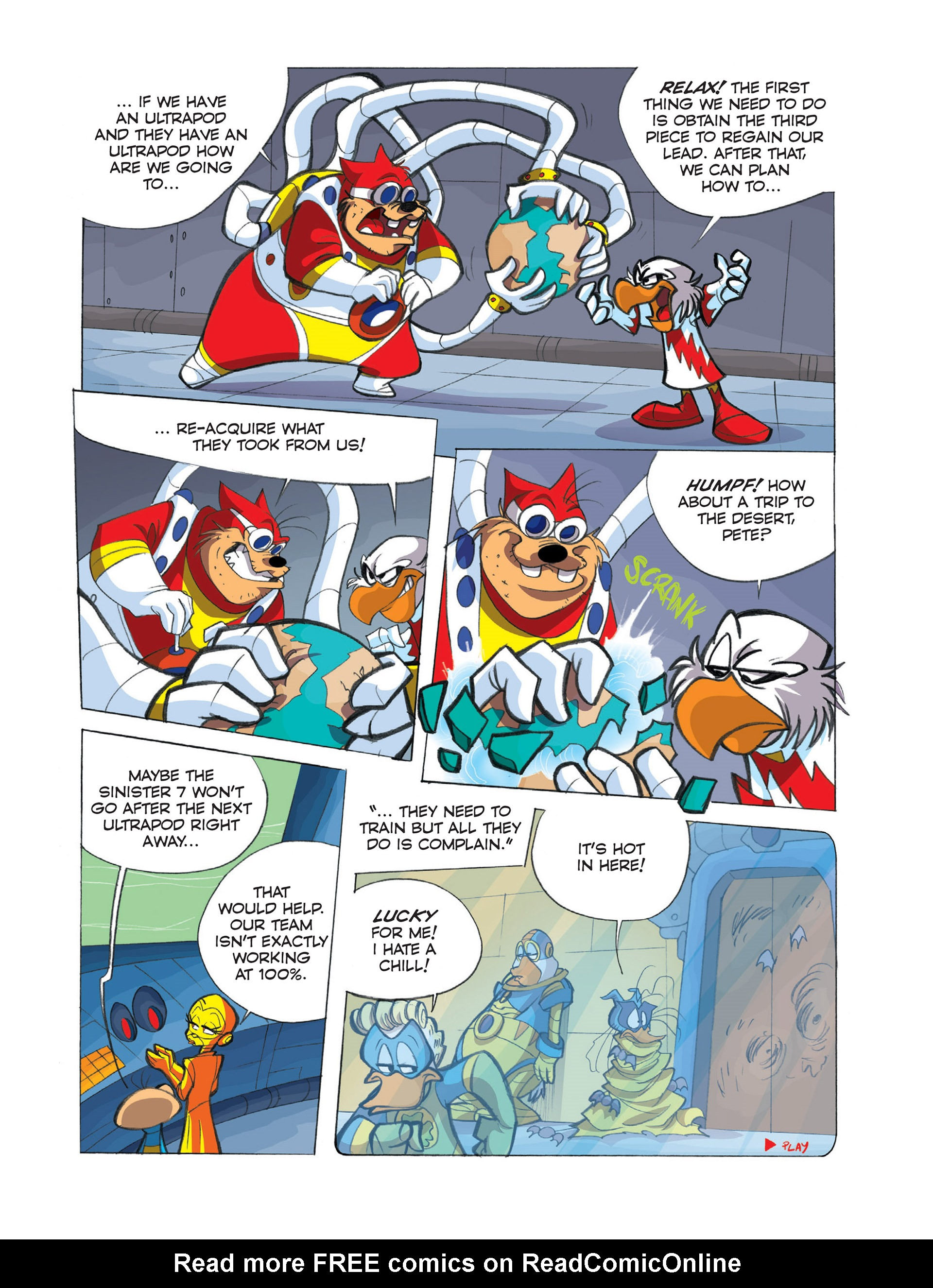 Read online Ultraheroes comic -  Issue #2 - 27