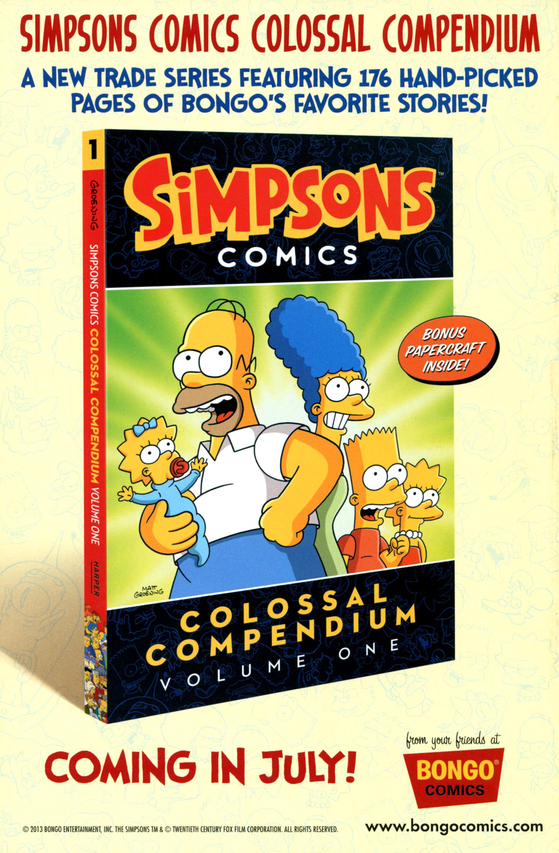 Read online Simpsons Comics comic -  Issue #202 - 32