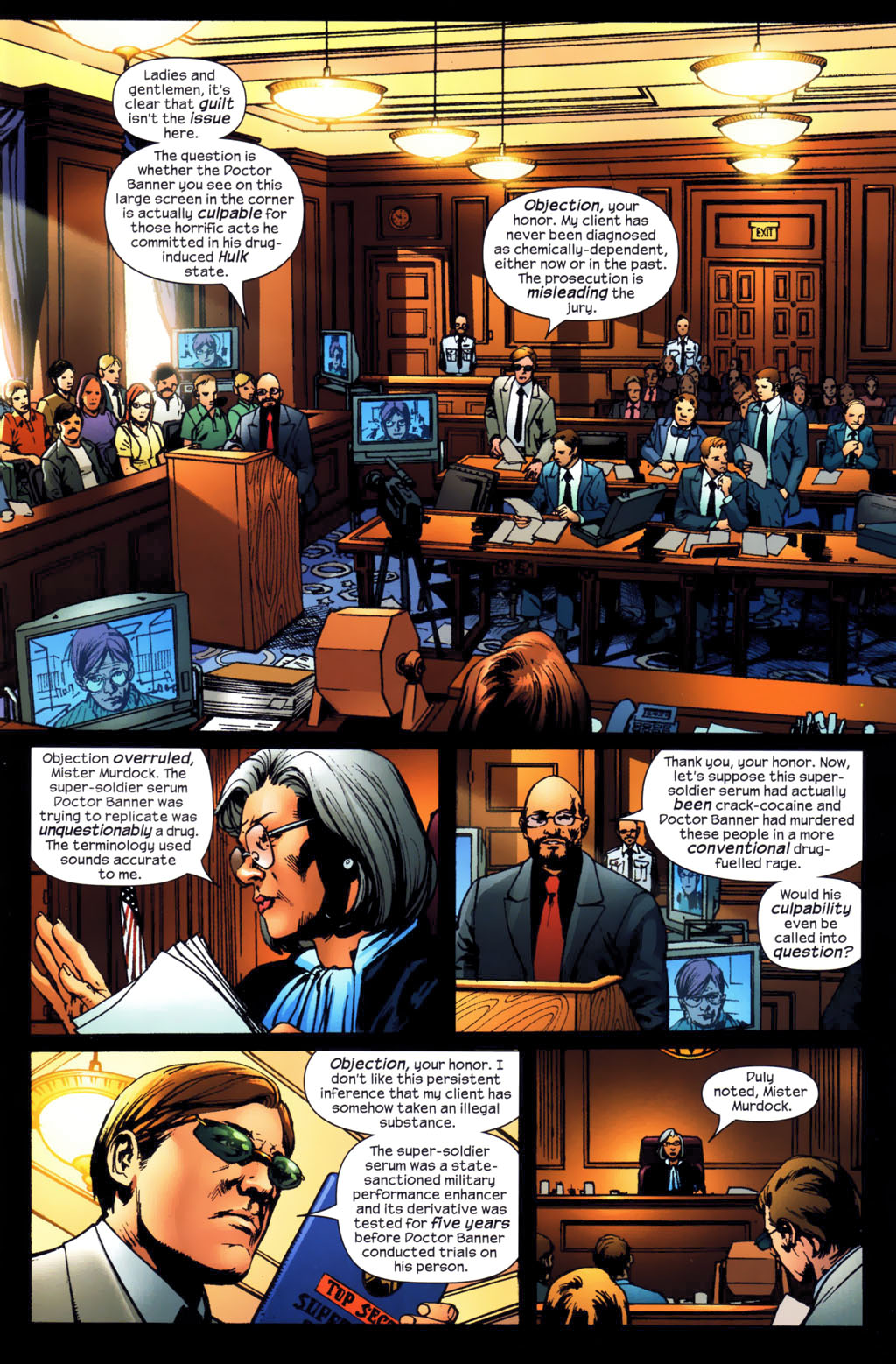 Read online Ultimates 2 comic -  Issue #3 - 4
