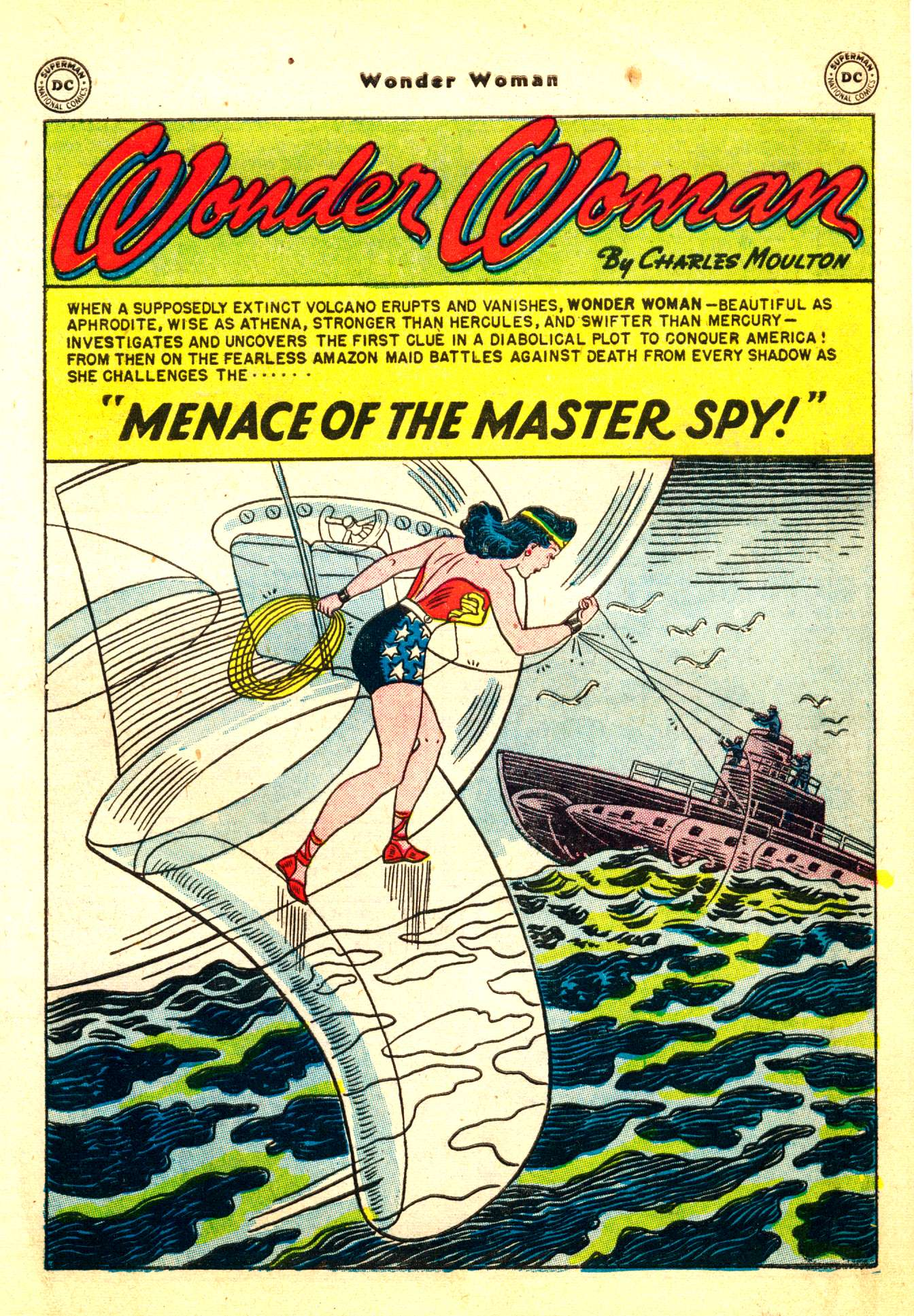 Read online Wonder Woman (1942) comic -  Issue #50 - 3