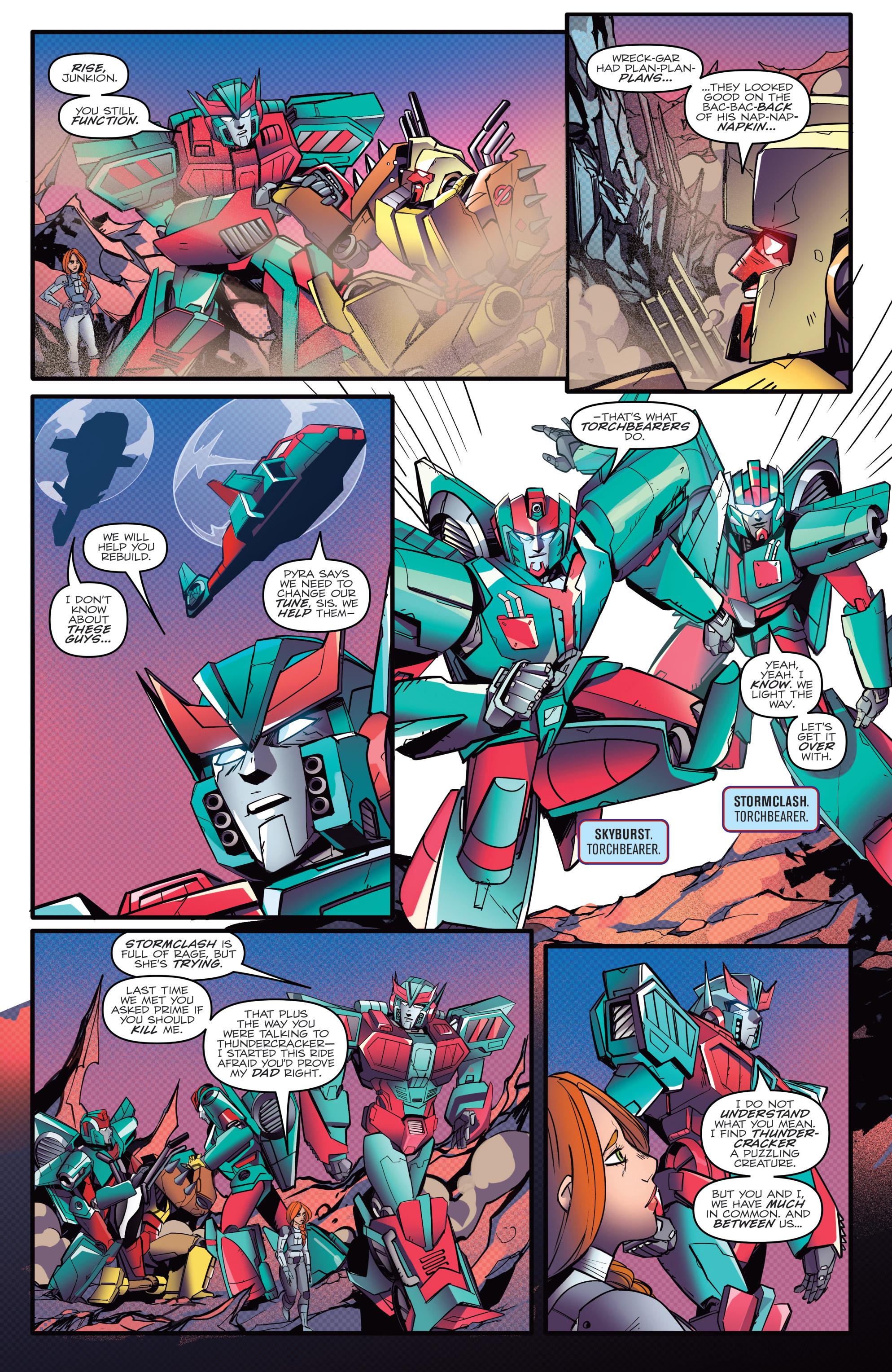 Read online Optimus Prime comic -  Issue #7 - 21