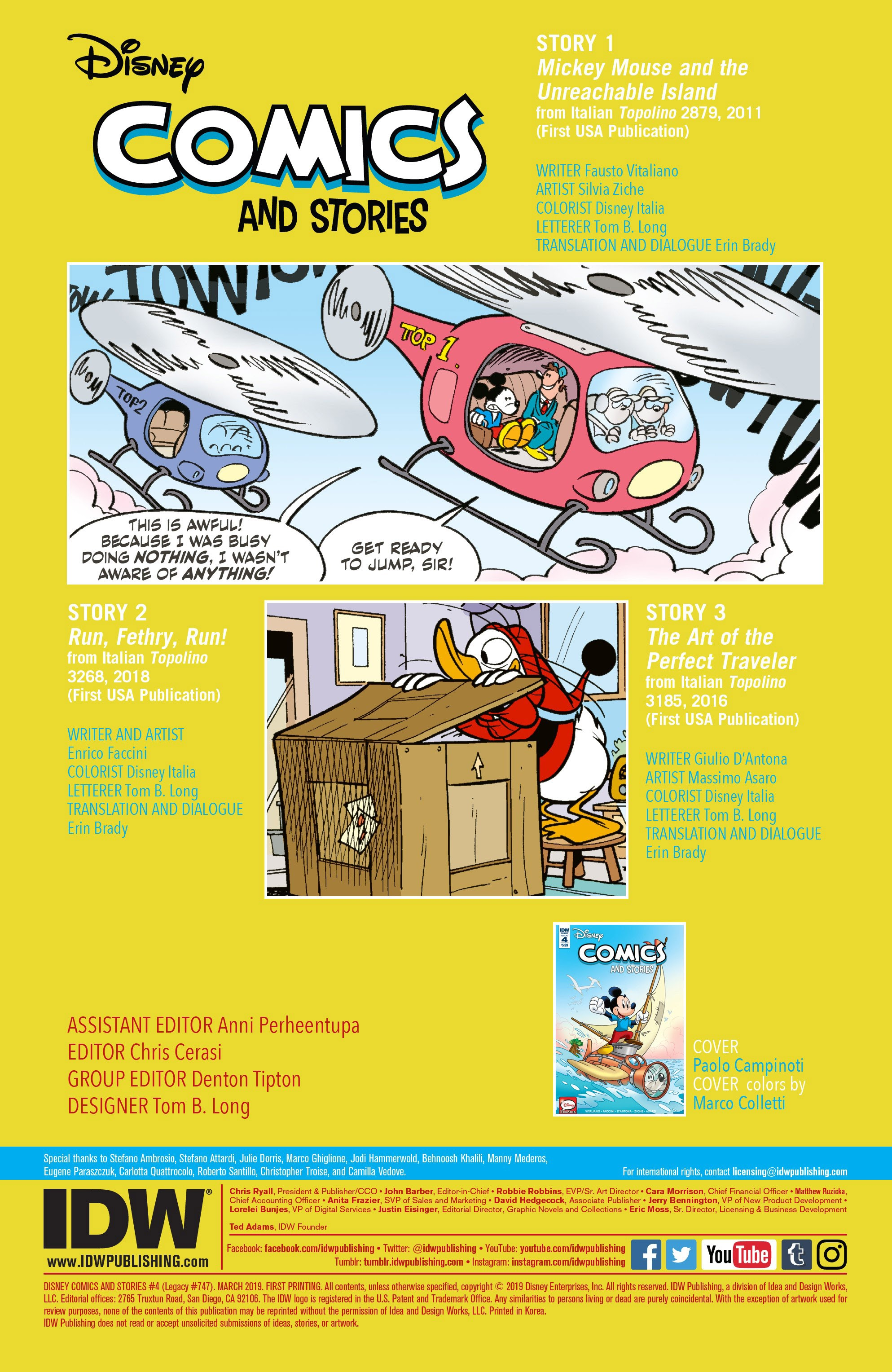 Disney Comics and Stories 4 Page 2