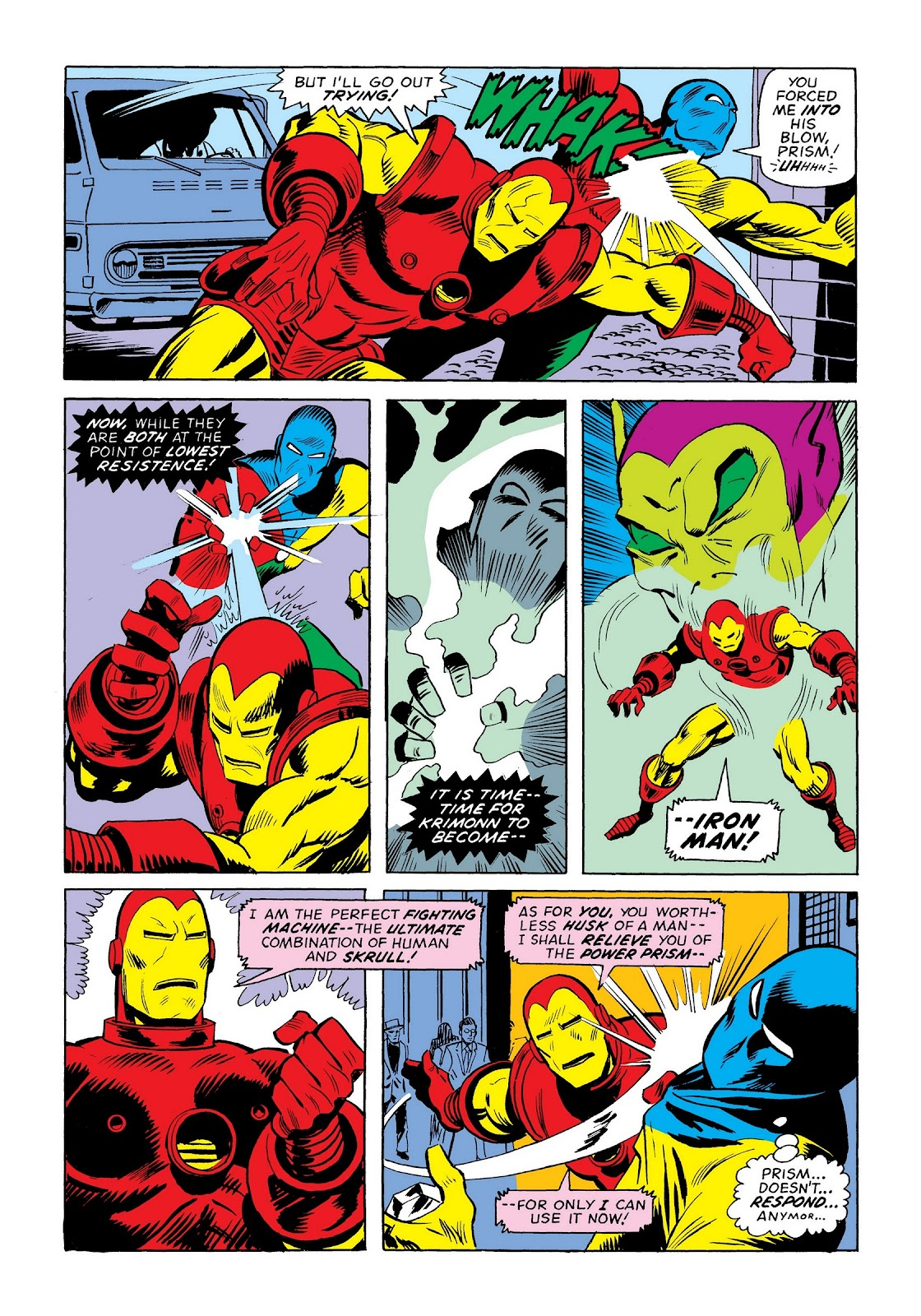 Read online Marvel Masterworks: The Invincible Iron Man comic -  Issue # TPB 9 (Part 3) - 50