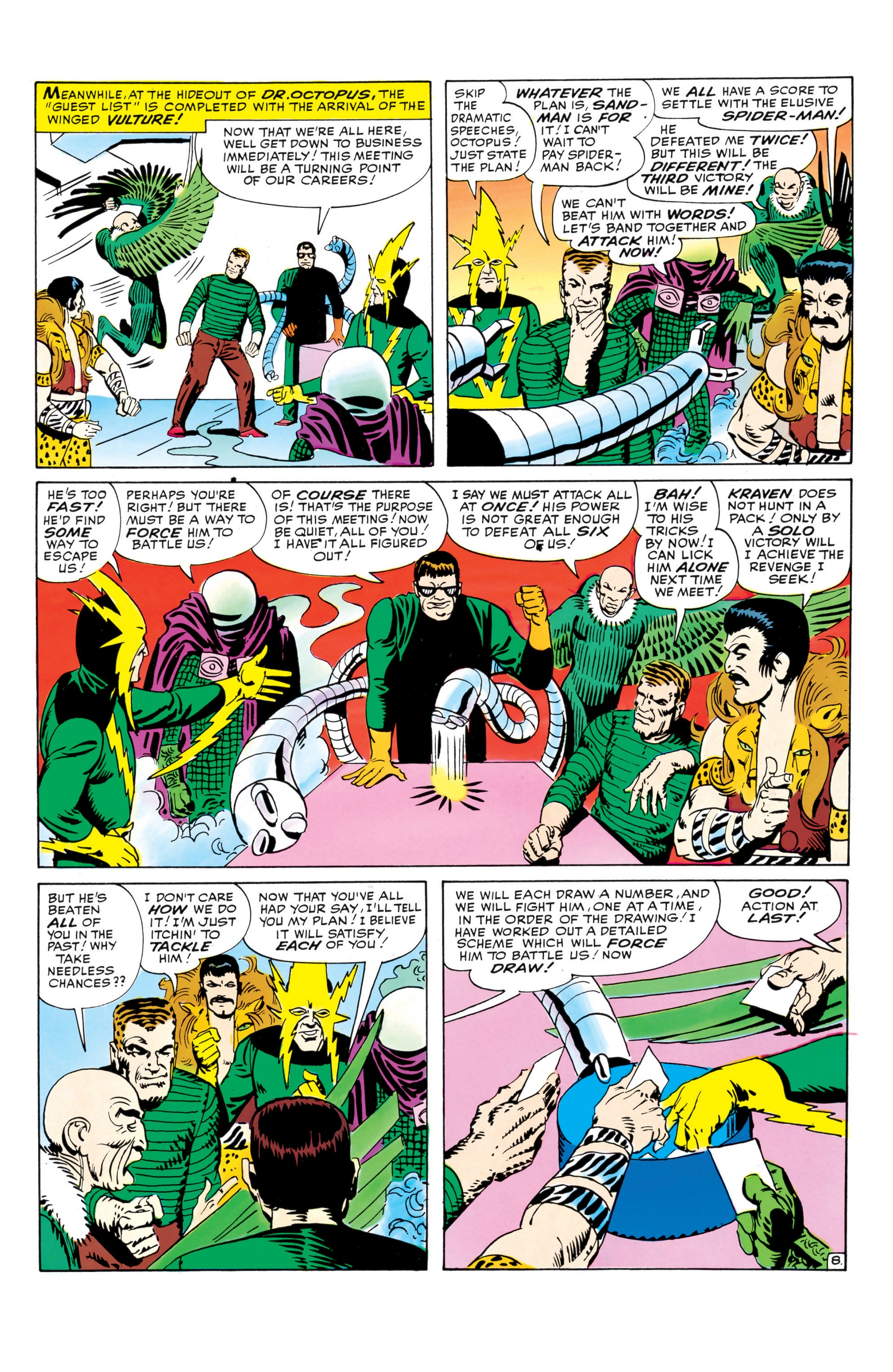 The Amazing Spider-Man (1963) _Annual_1 Page 8