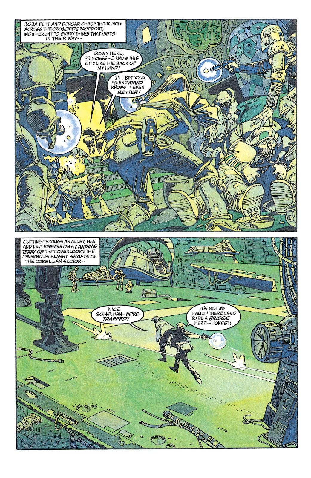 Read online Star Wars: Dark Empire Trilogy comic -  Issue # TPB (Part 1) - 84