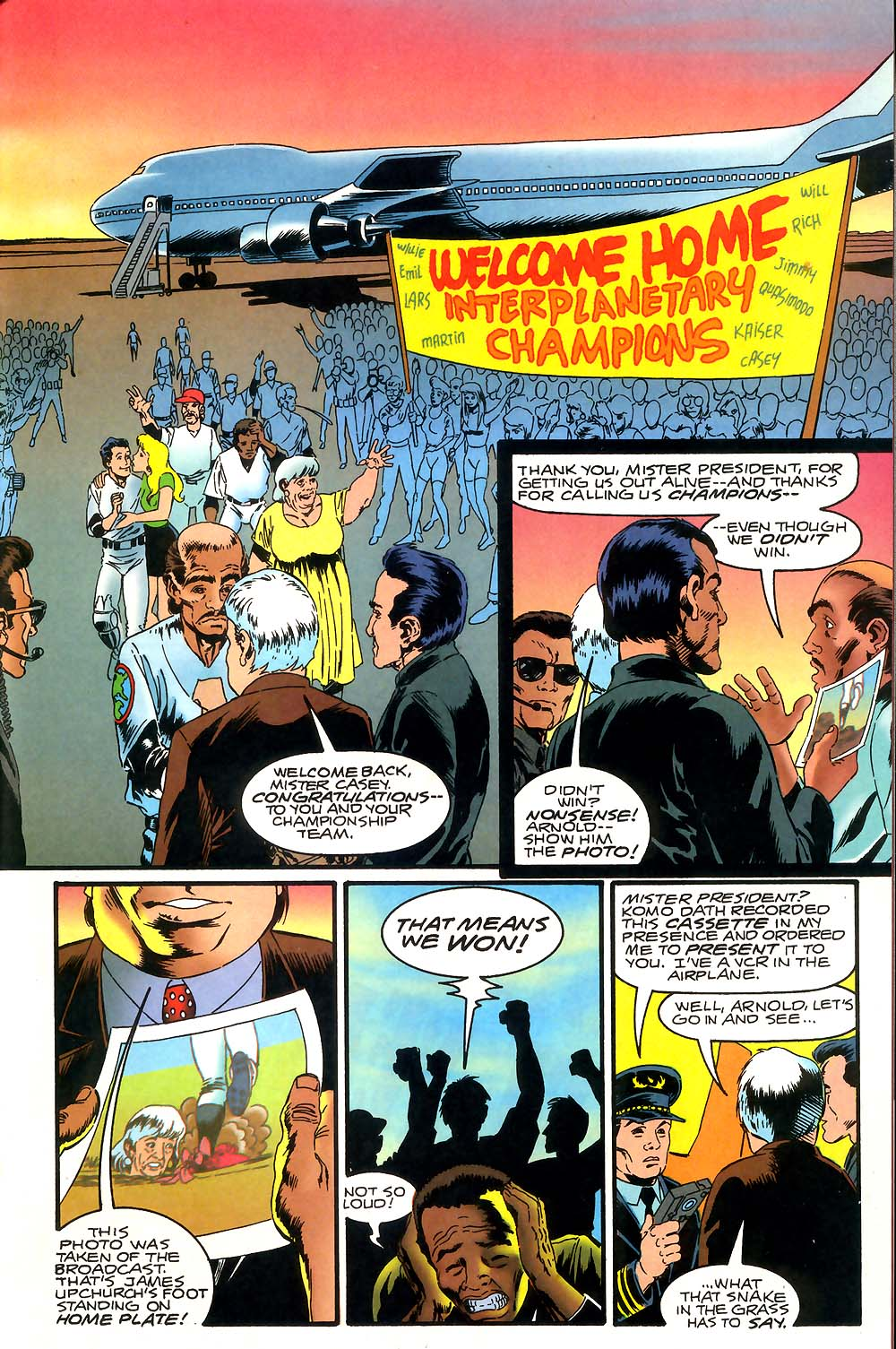 Read online Mars Attacks Baseball Special comic -  Issue # Full - 23