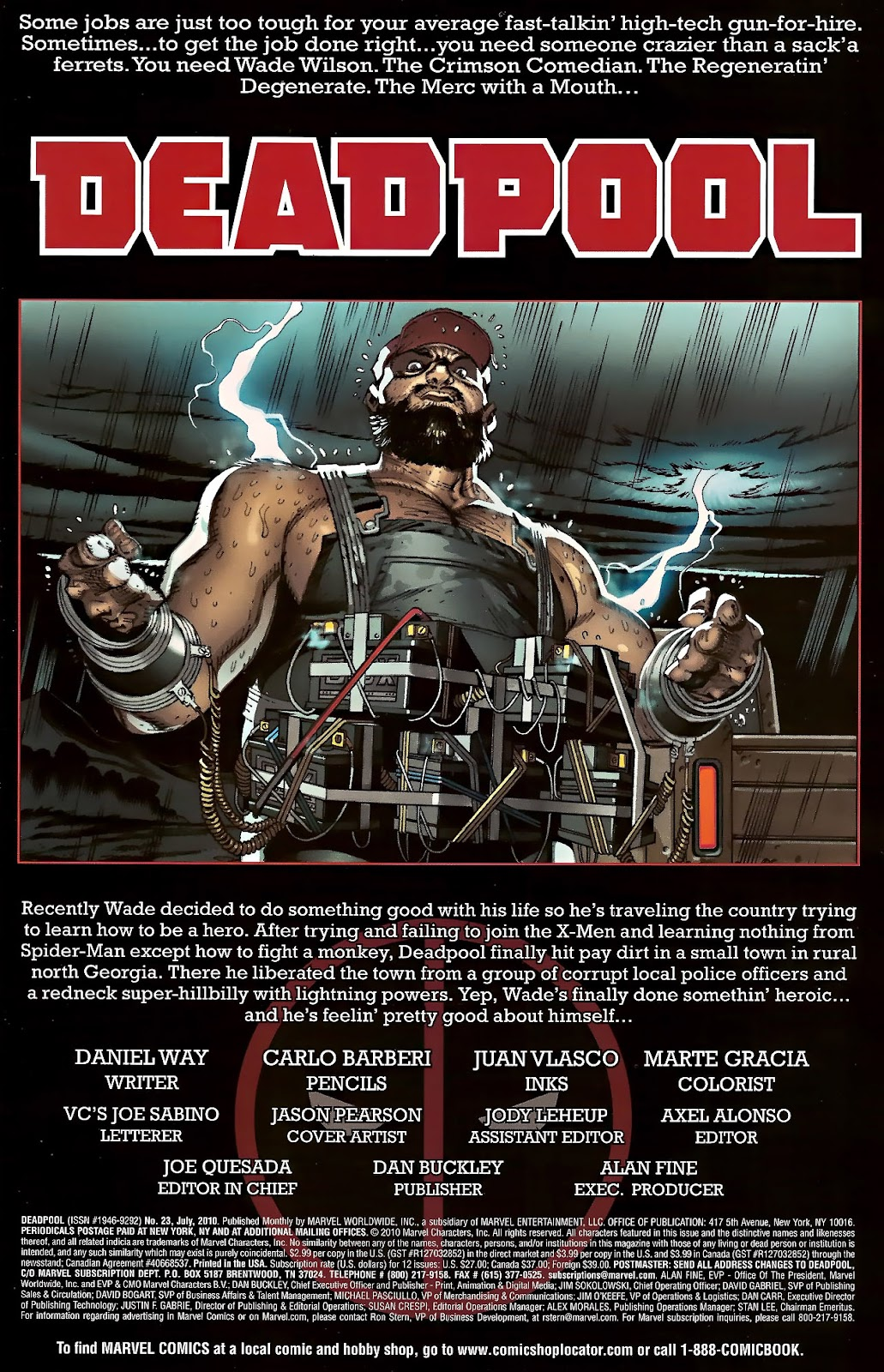 Read online Deadpool (2008) comic -  Issue #23 - 3
