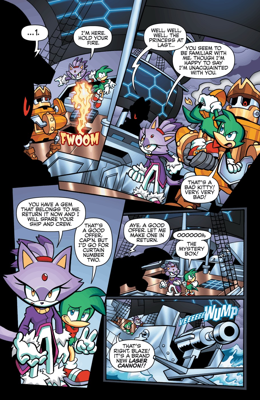Read online Sonic Universe comic -  Issue #55 - 17