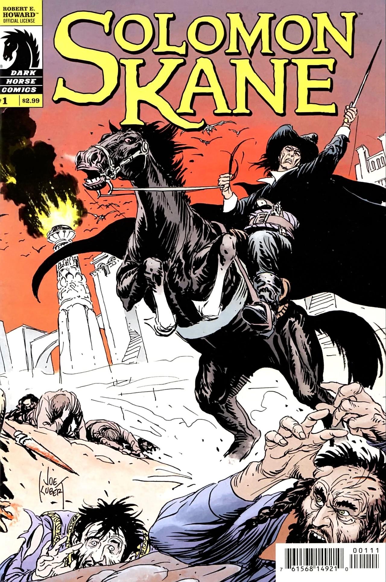 Read online Solomon Kane comic -  Issue #1 - 2