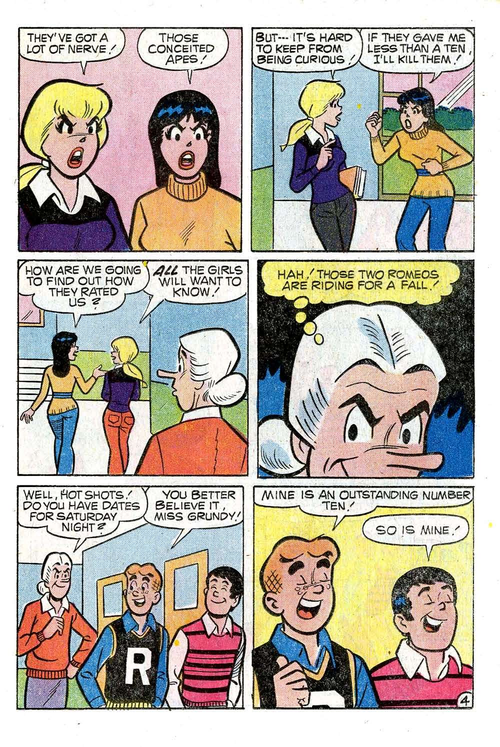 Read online Archie (1960) comic -  Issue #272 - 23