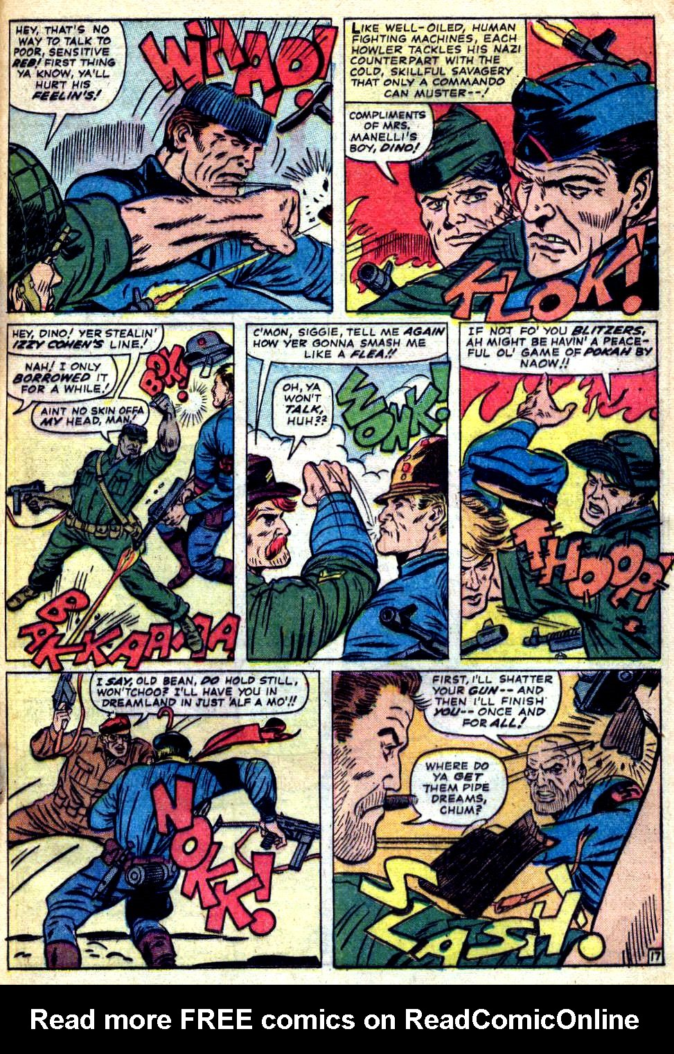 Read online Sgt. Fury comic -  Issue #22 - 25
