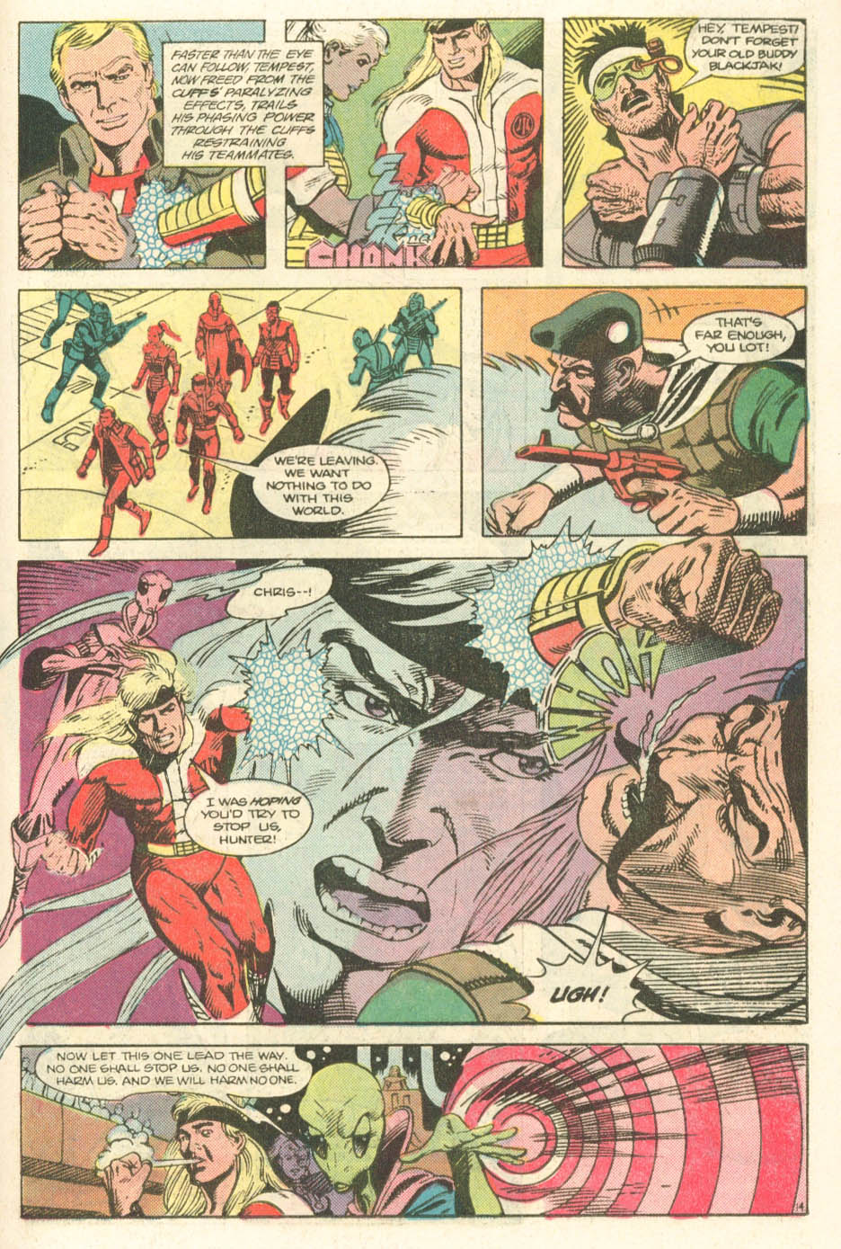 Read online Atari Force (1984) comic -  Issue #20 - 16