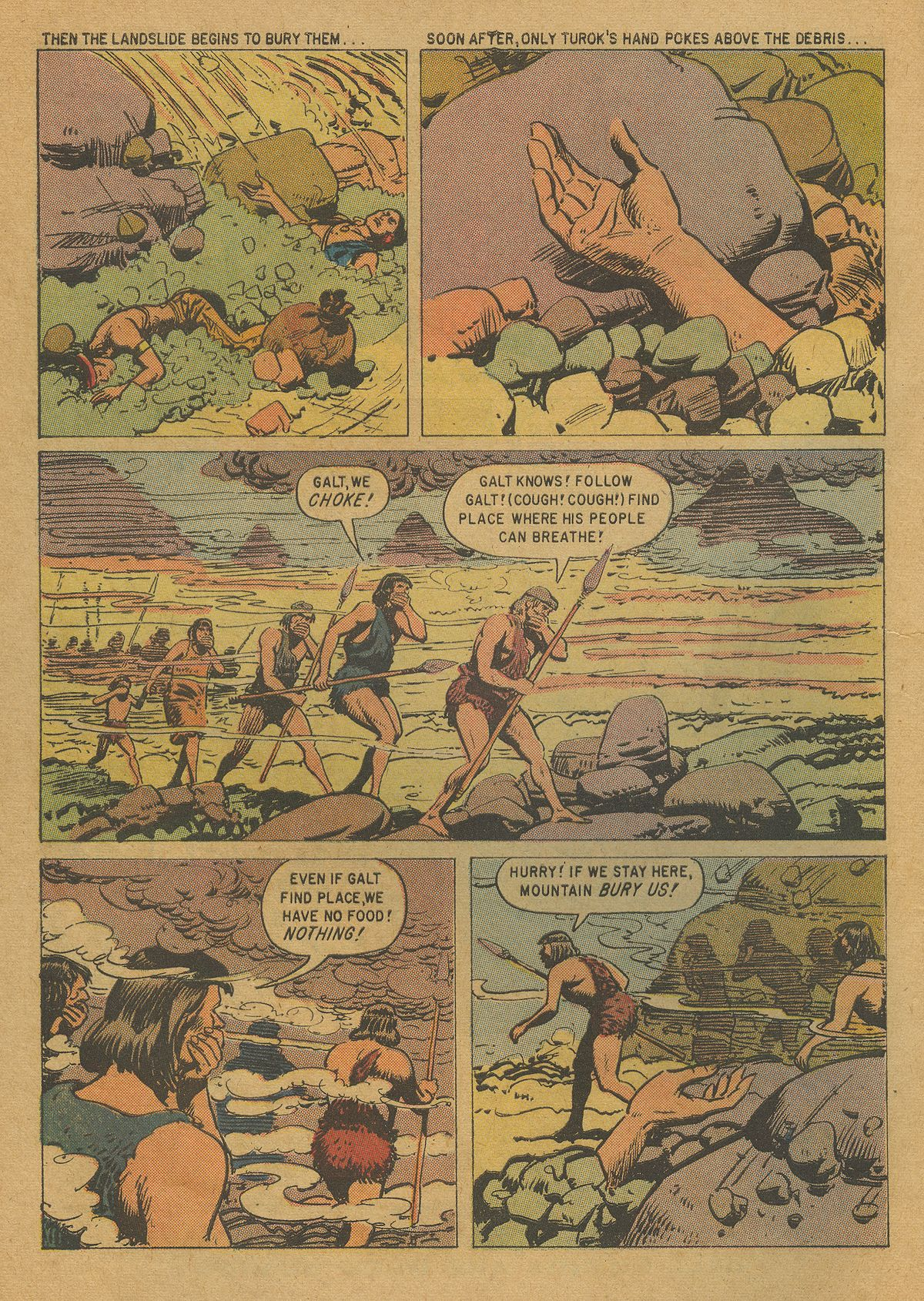 Read online Turok, Son of Stone comic -  Issue #20 - 4