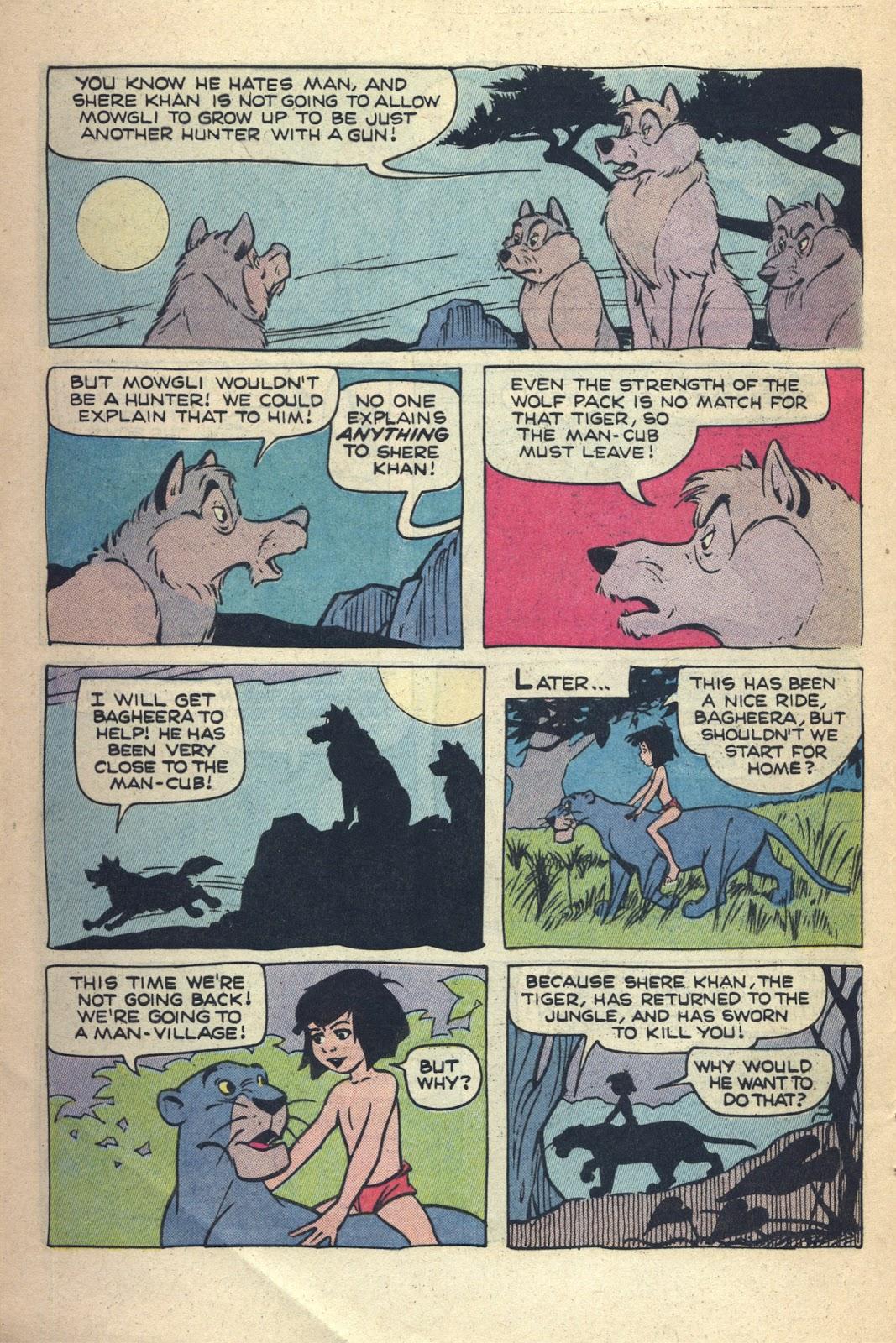 Read online Walt Disney presents The Jungle Book comic -  Issue # Full - 7