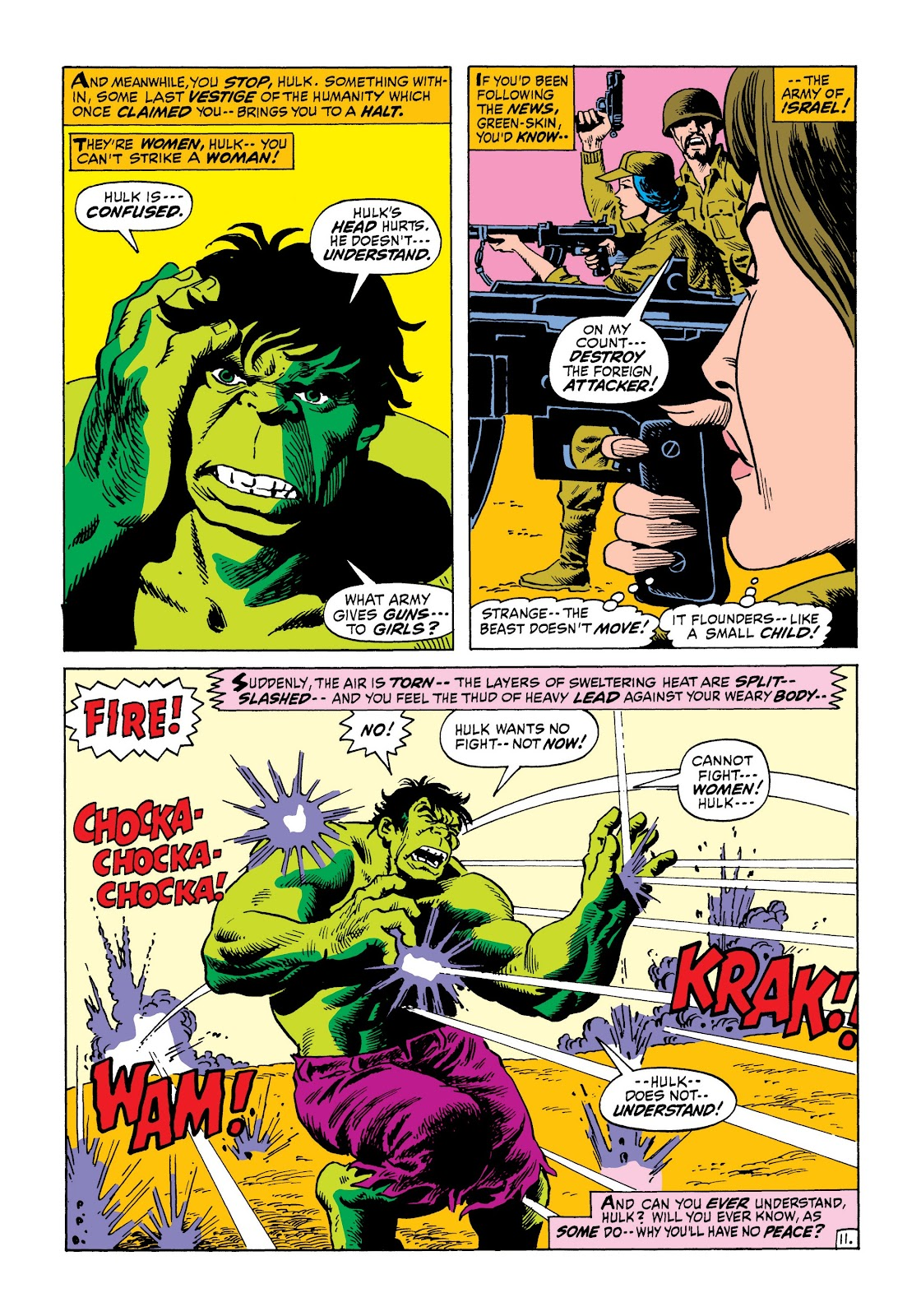 Read online Marvel Masterworks: The Incredible Hulk comic -  Issue # TPB 8 (Part 1) - 52