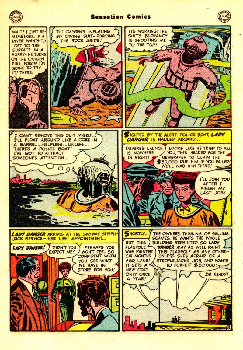 Read online Sensation (Mystery) Comics comic -  Issue #88 - 47