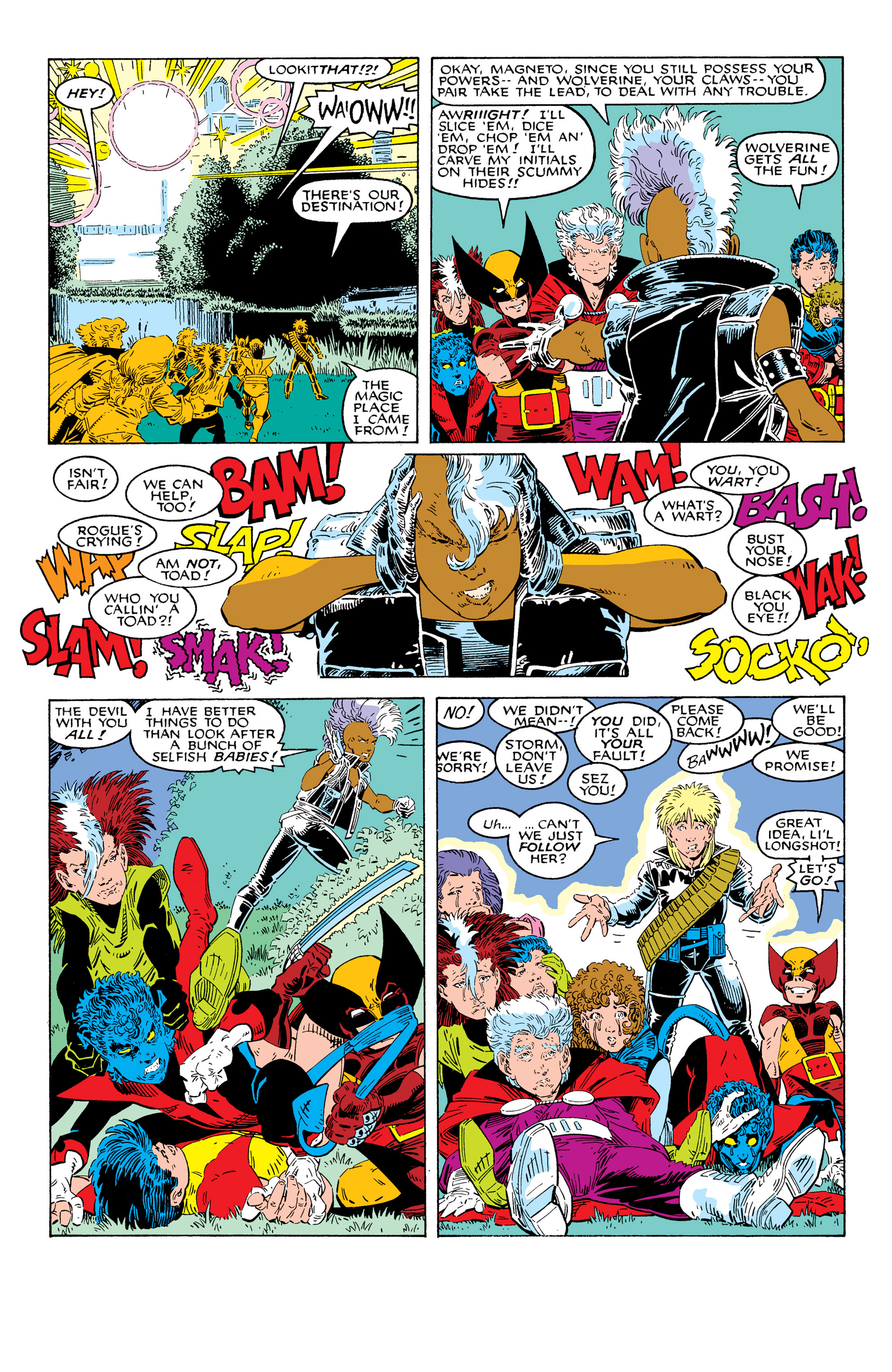 Read online Uncanny X-Men (1963) comic -  Issue # _Annual 10 - 16