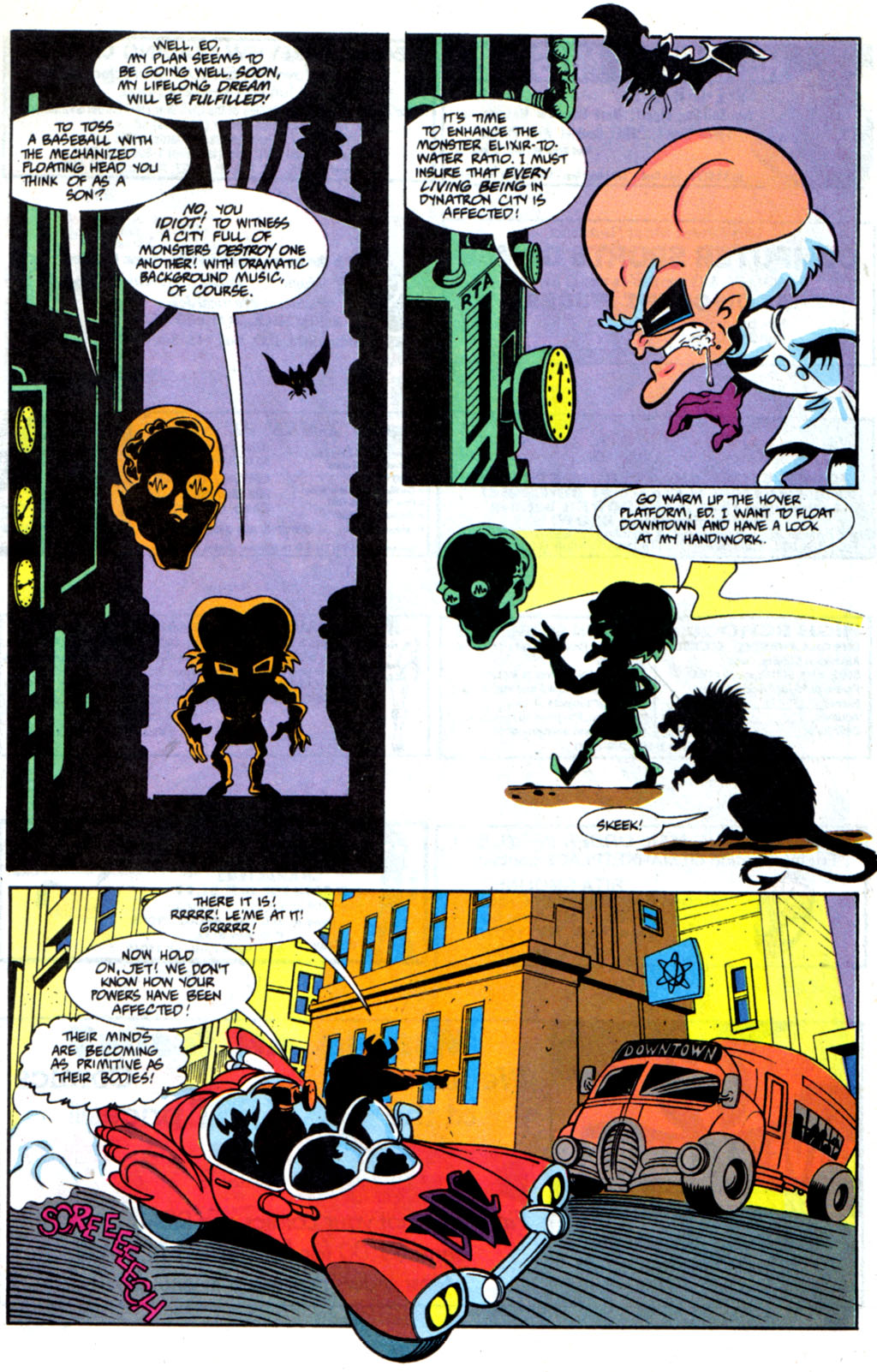 Read online Defenders of Dynatron City comic -  Issue #6 - 9