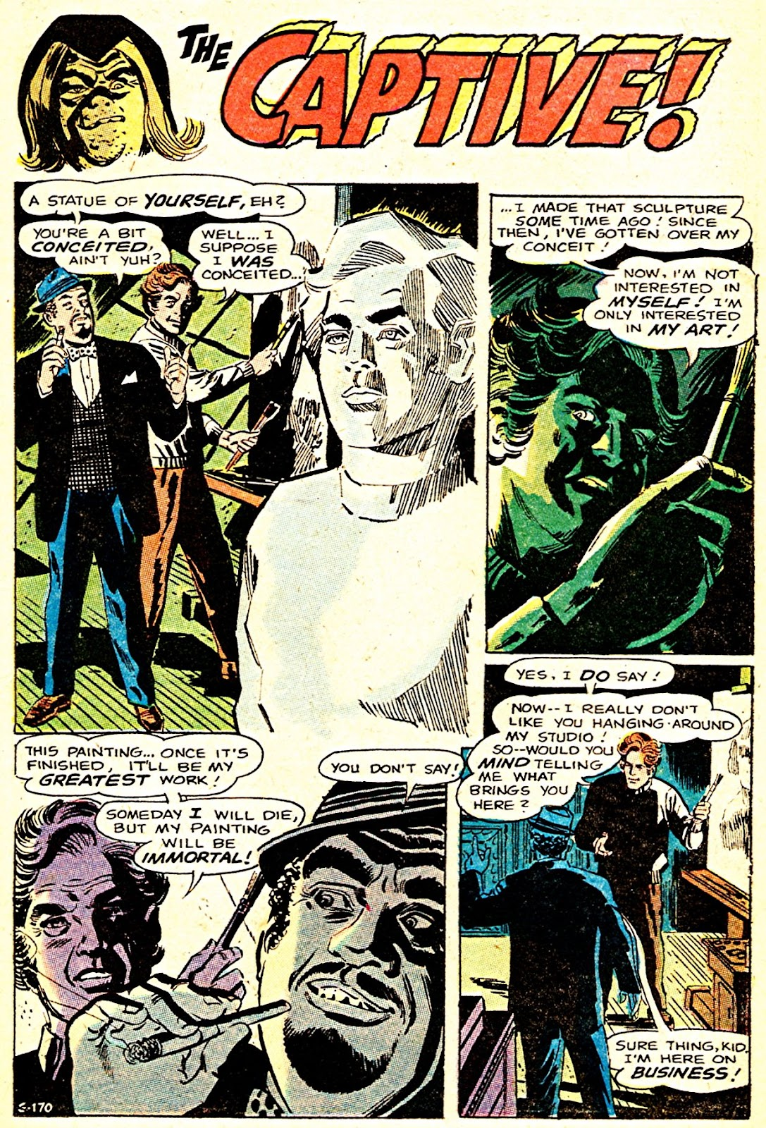 The Witching Hour (1969) issue 7 - Page 13