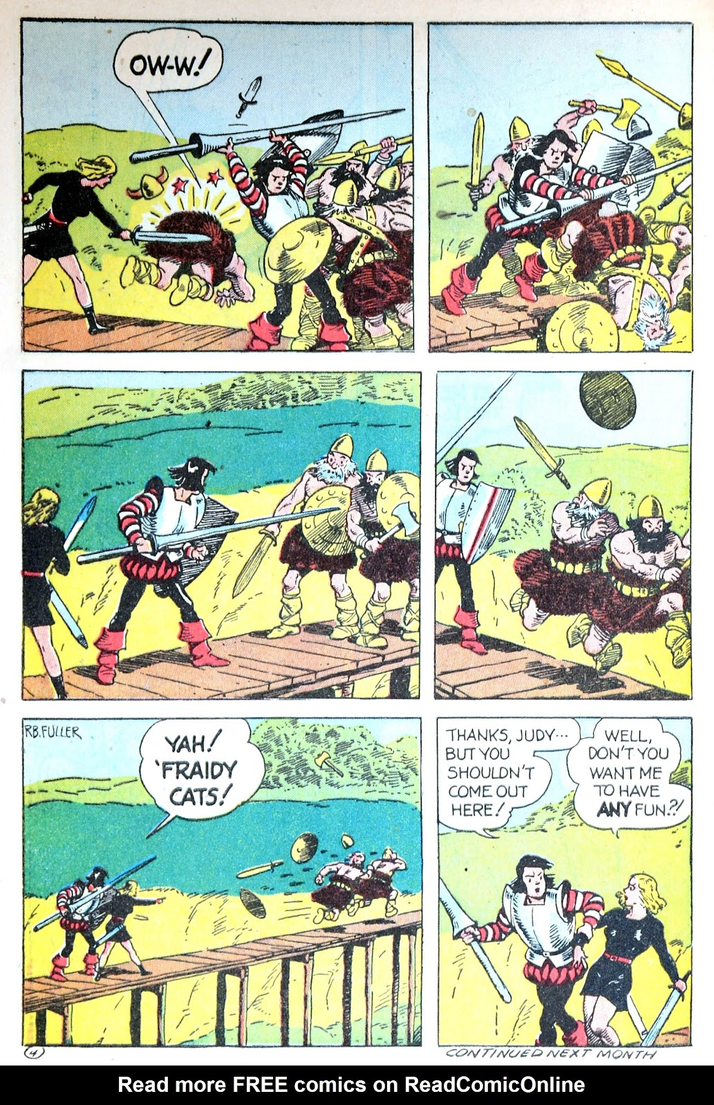 Read online Famous Funnies comic -  Issue #123 - 44