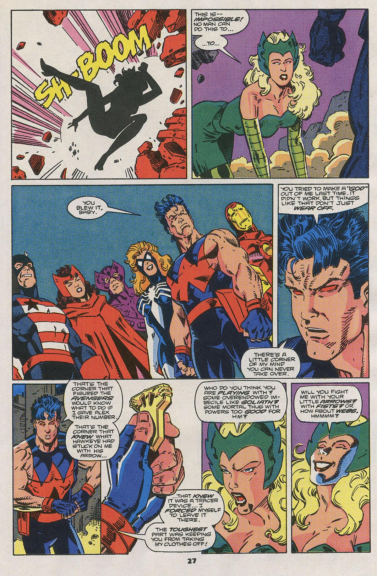 Read online Wonder Man (1991) comic -  Issue #2 - 22