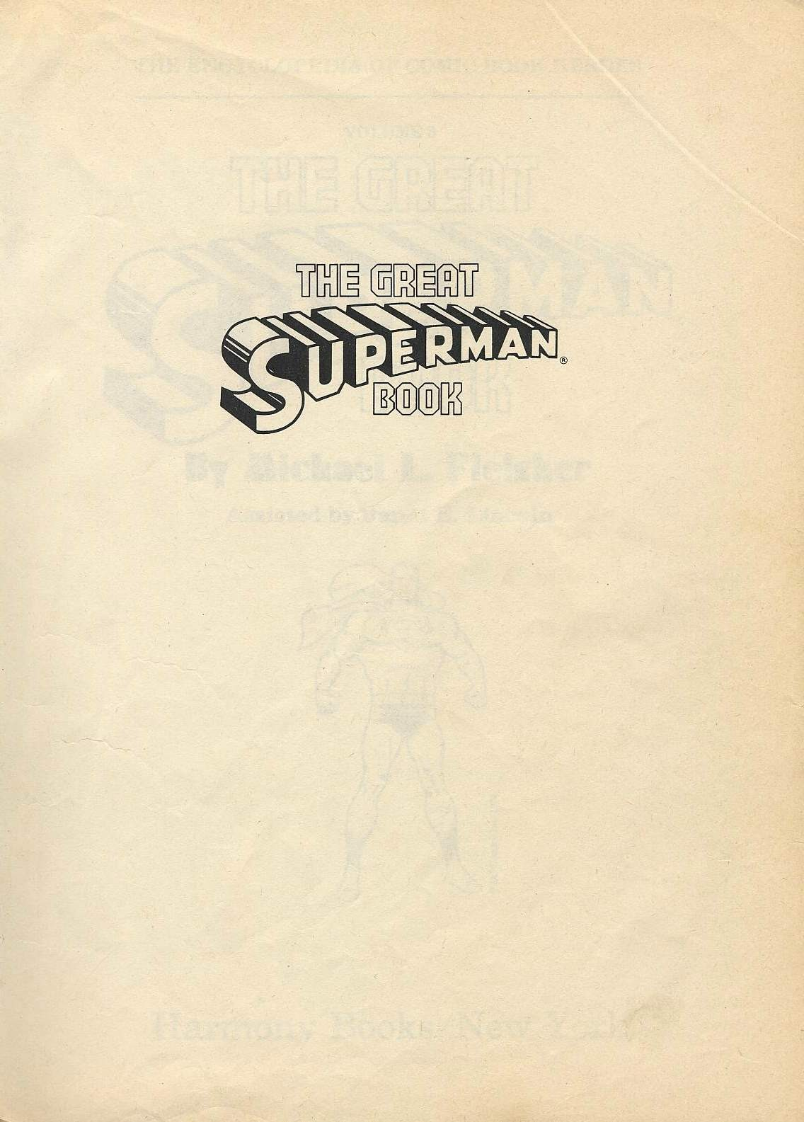 The Great Superman Book issue TPB (Part 1) - Page 3