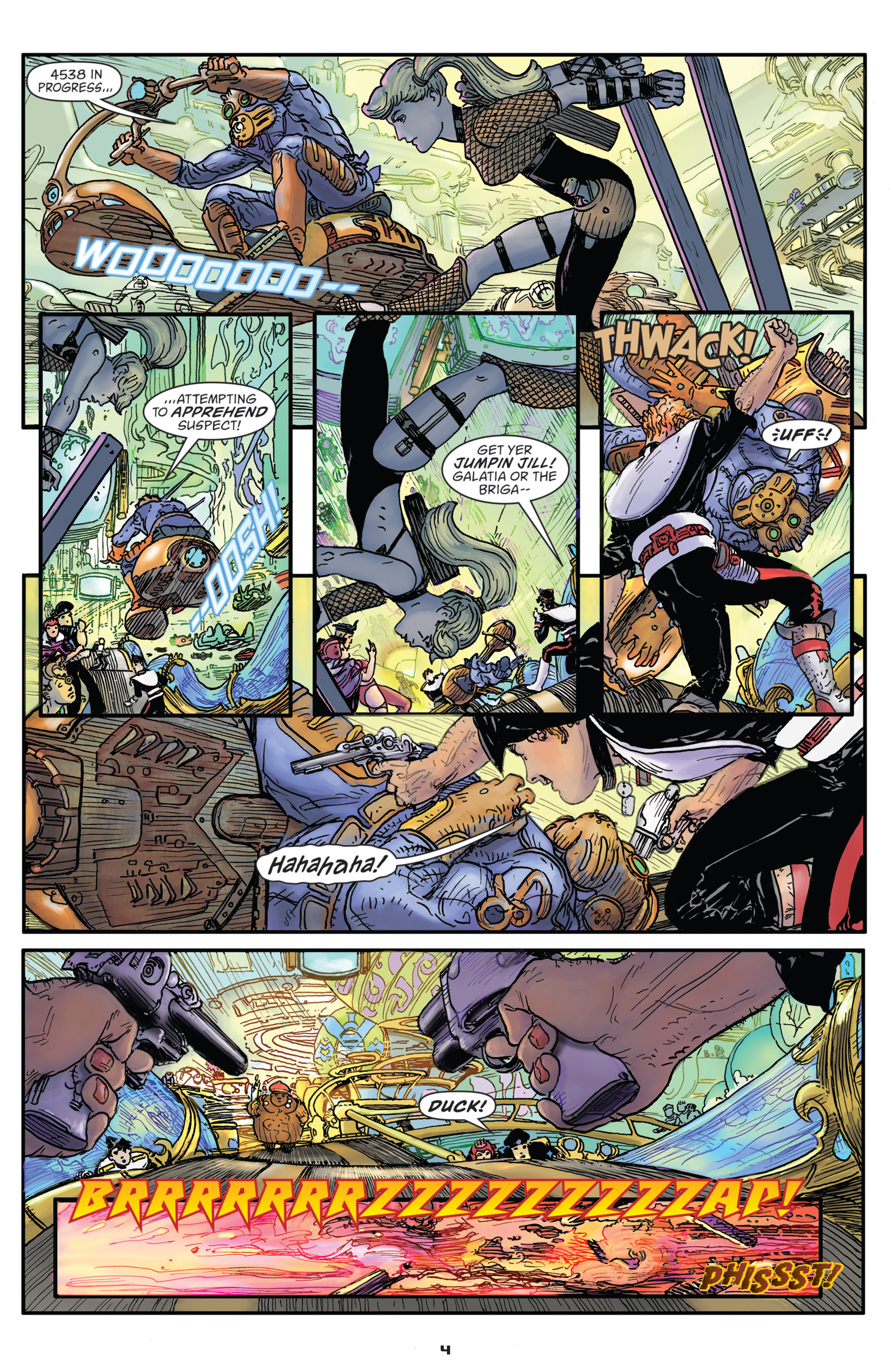 Read online Starstruck: Old Proldiers Never Die comic -  Issue #5 - 6