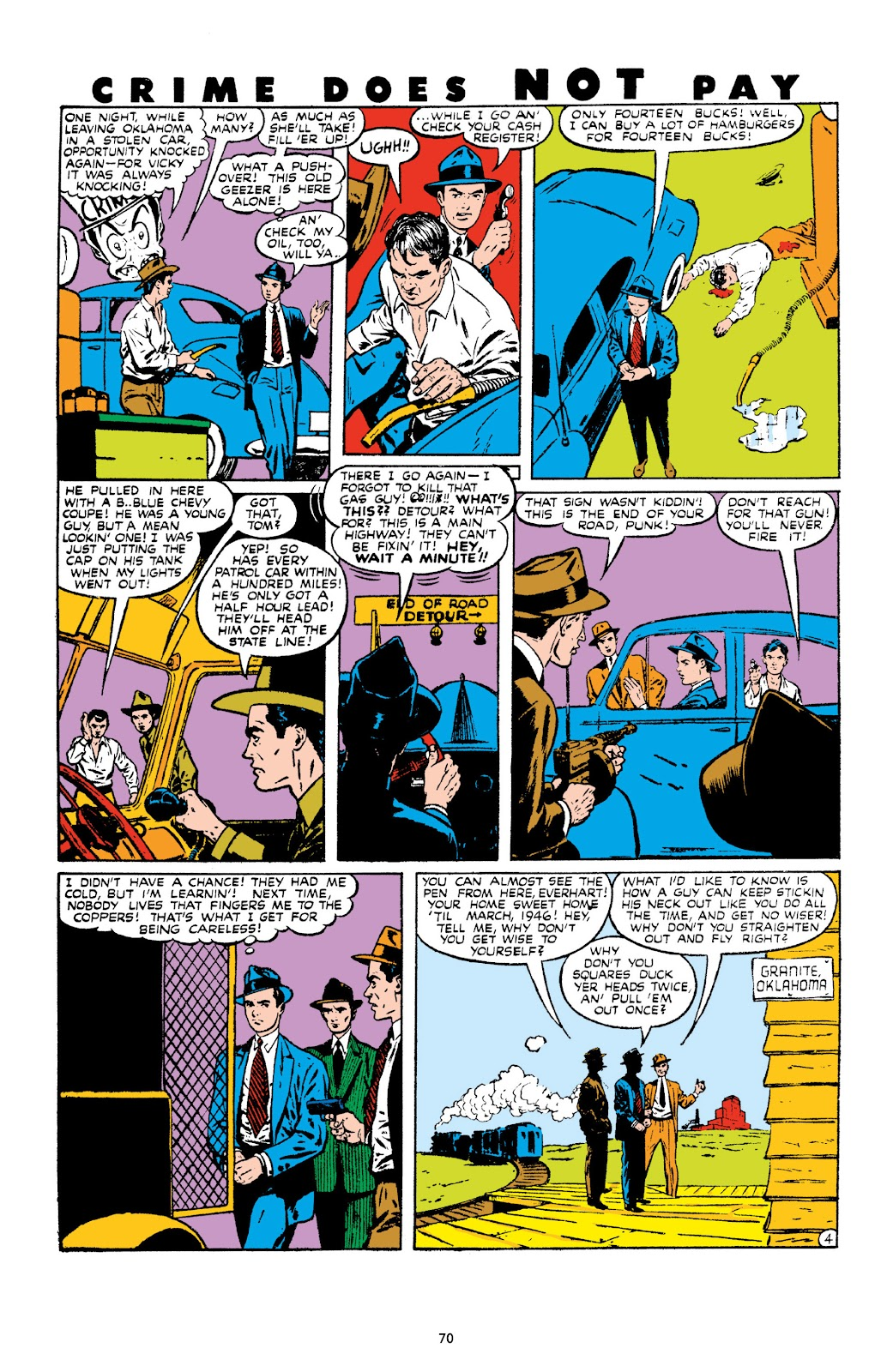 Read online Crime Does Not Pay Archives comic -  Issue # TPB 10 (Part 1) - 72