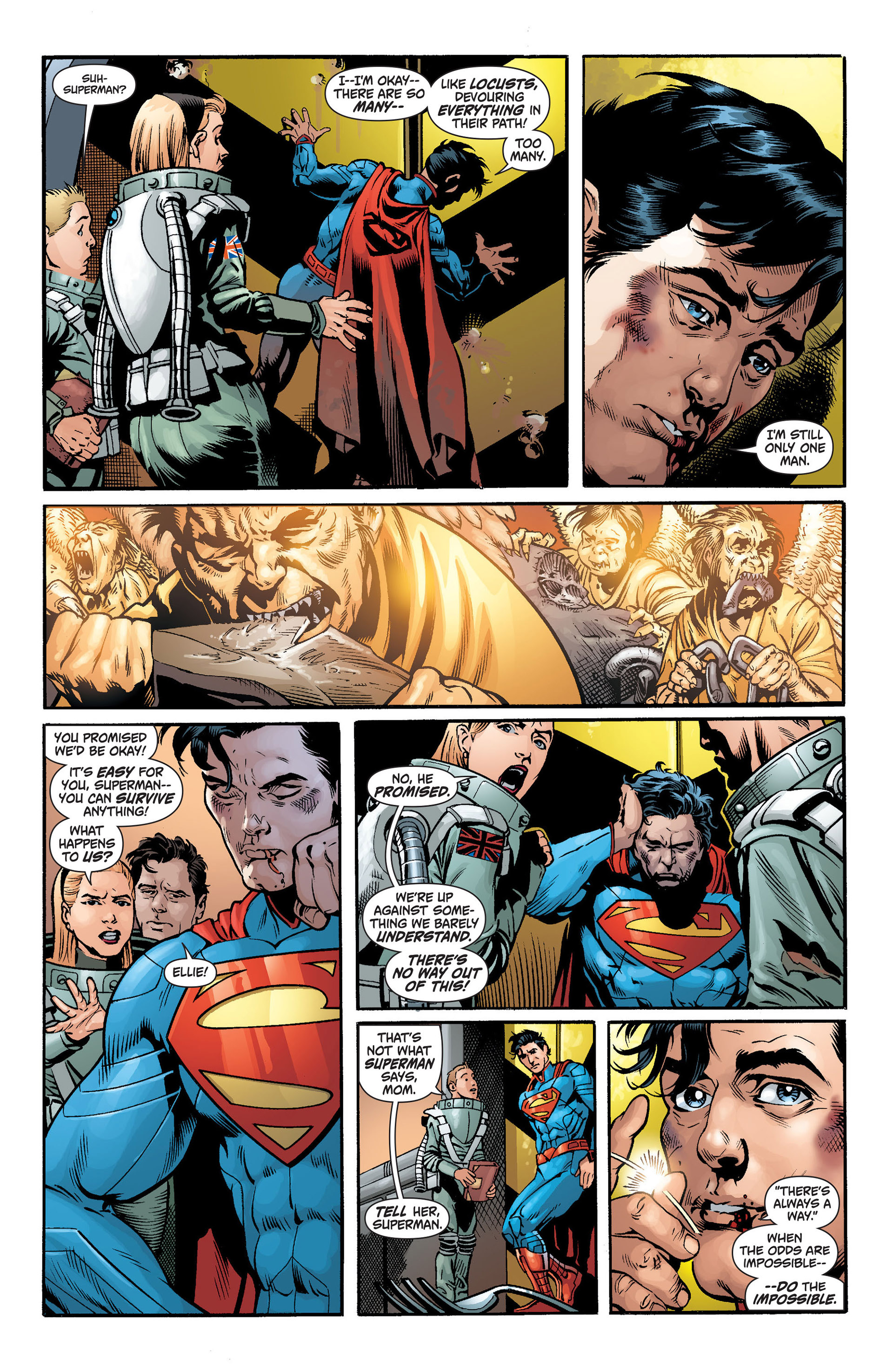Read online Action Comics (2011) comic -  Issue #14 - 18