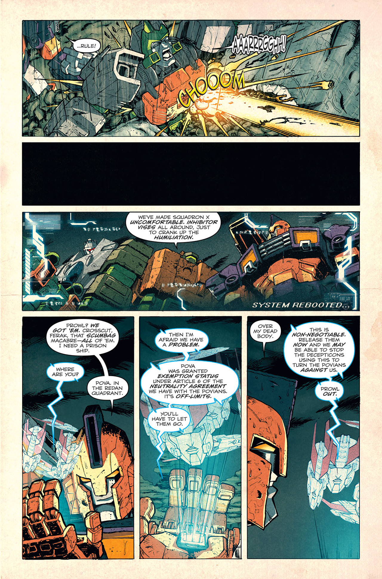 Read online Transformers: Last Stand of The Wreckers comic -  Issue #5 - 10