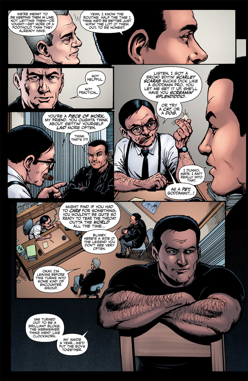 Read online The Boys: Butcher, Baker, Candlestickmaker comic -  Issue #6 - 12