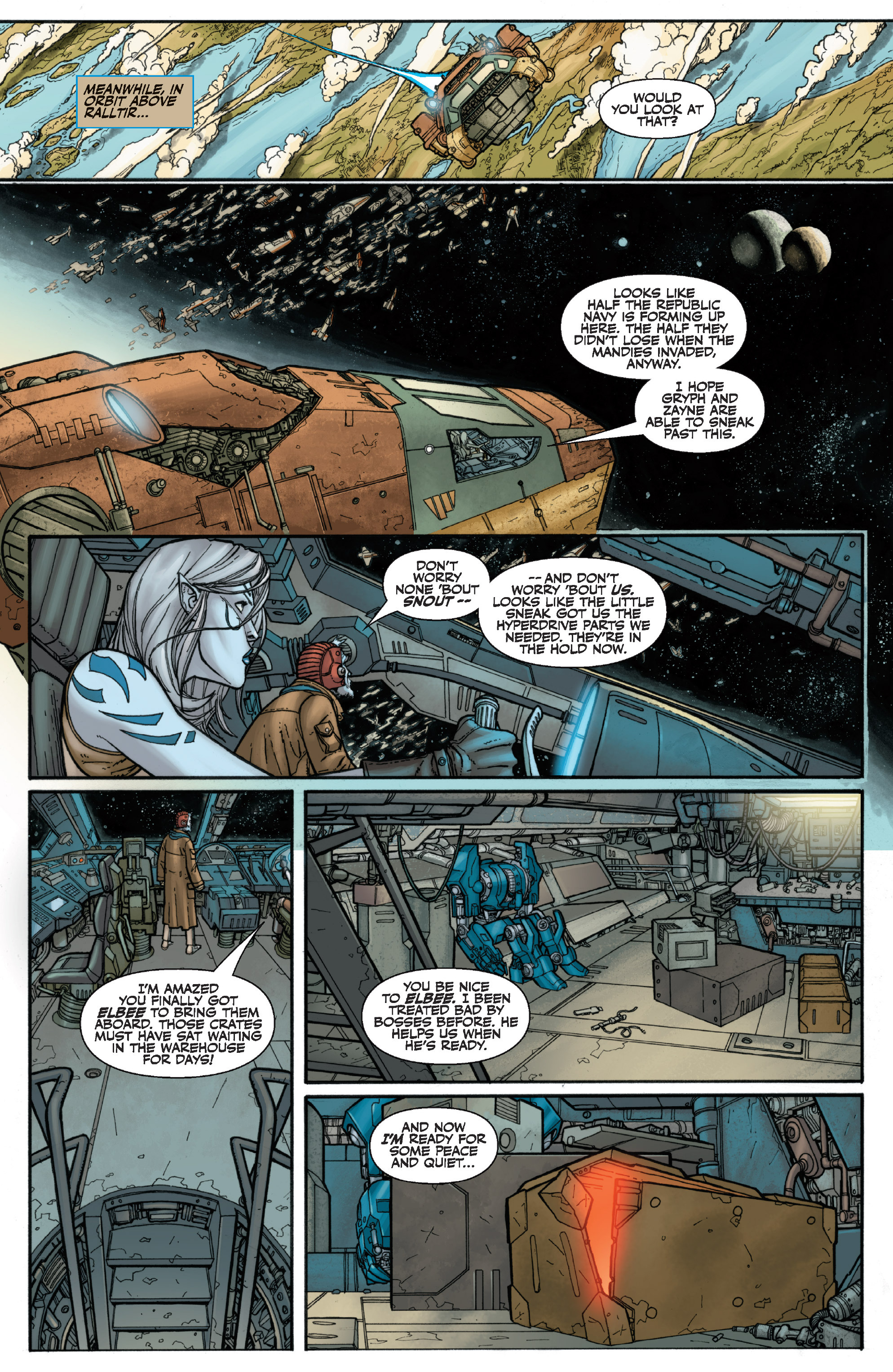 Read online Star Wars Omnibus comic -  Issue # Vol. 29 - 285