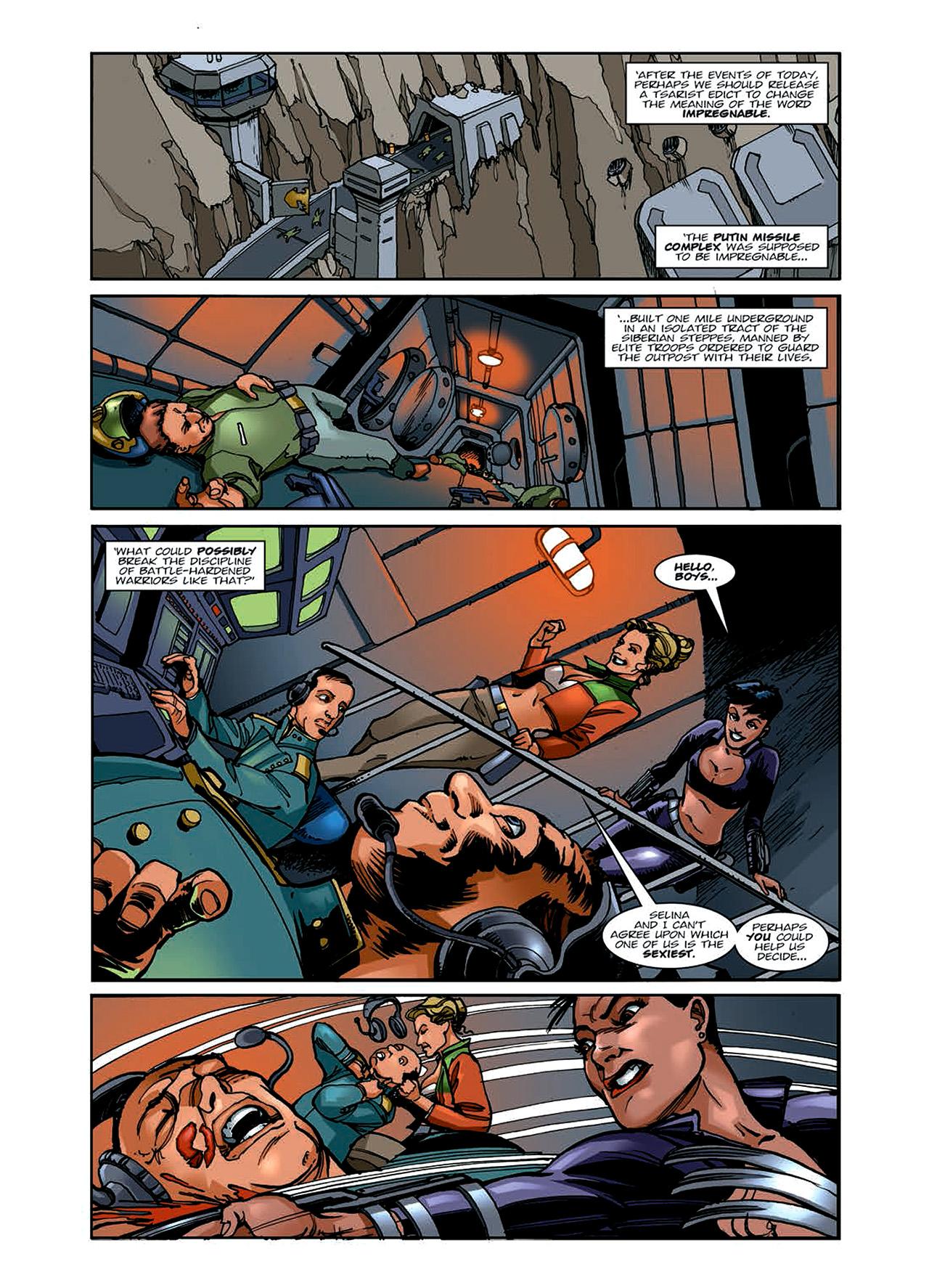 Read online Nikolai Dante comic -  Issue # TPB 6 - 49