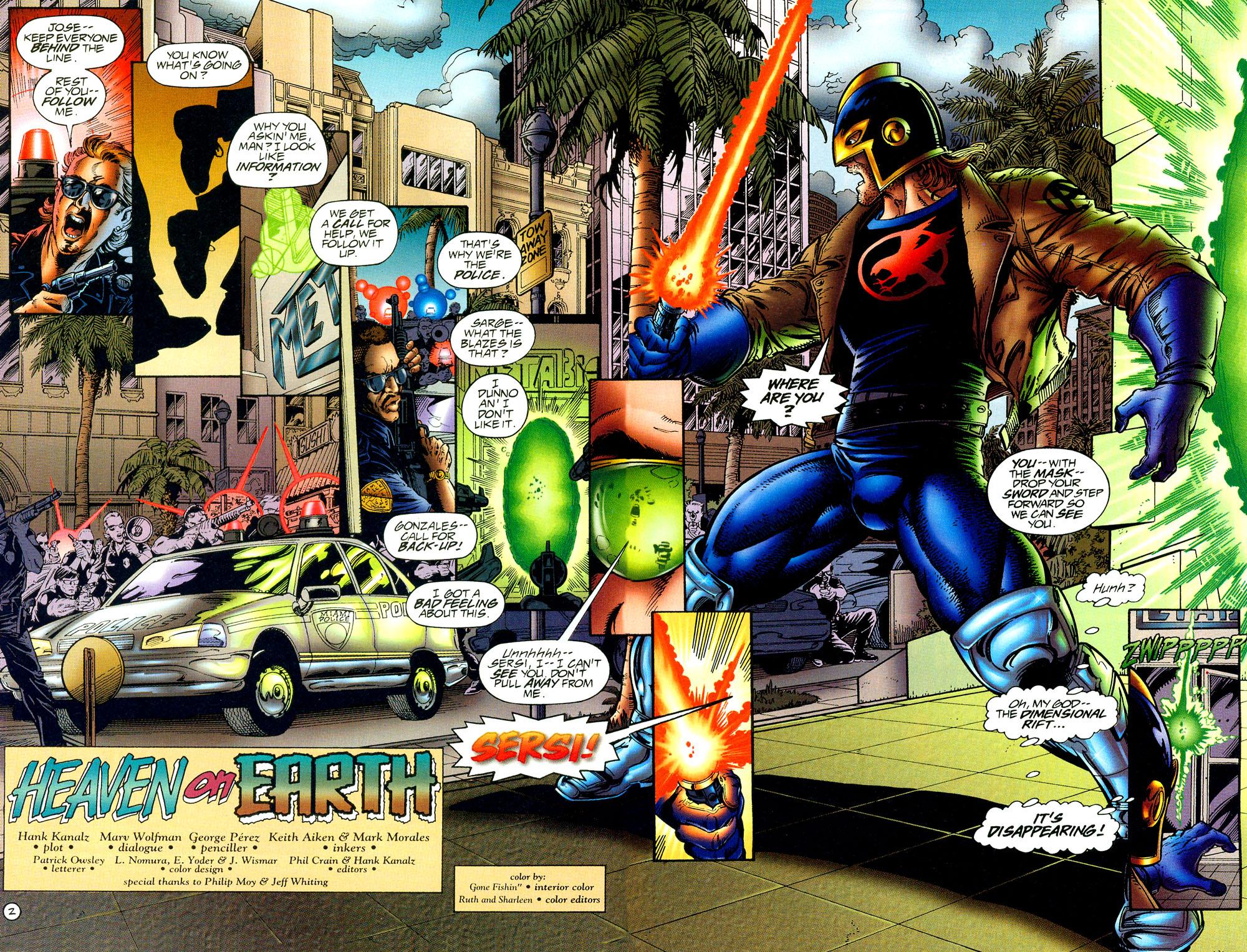 Read online UltraForce (1994) comic -  Issue #8 - 3