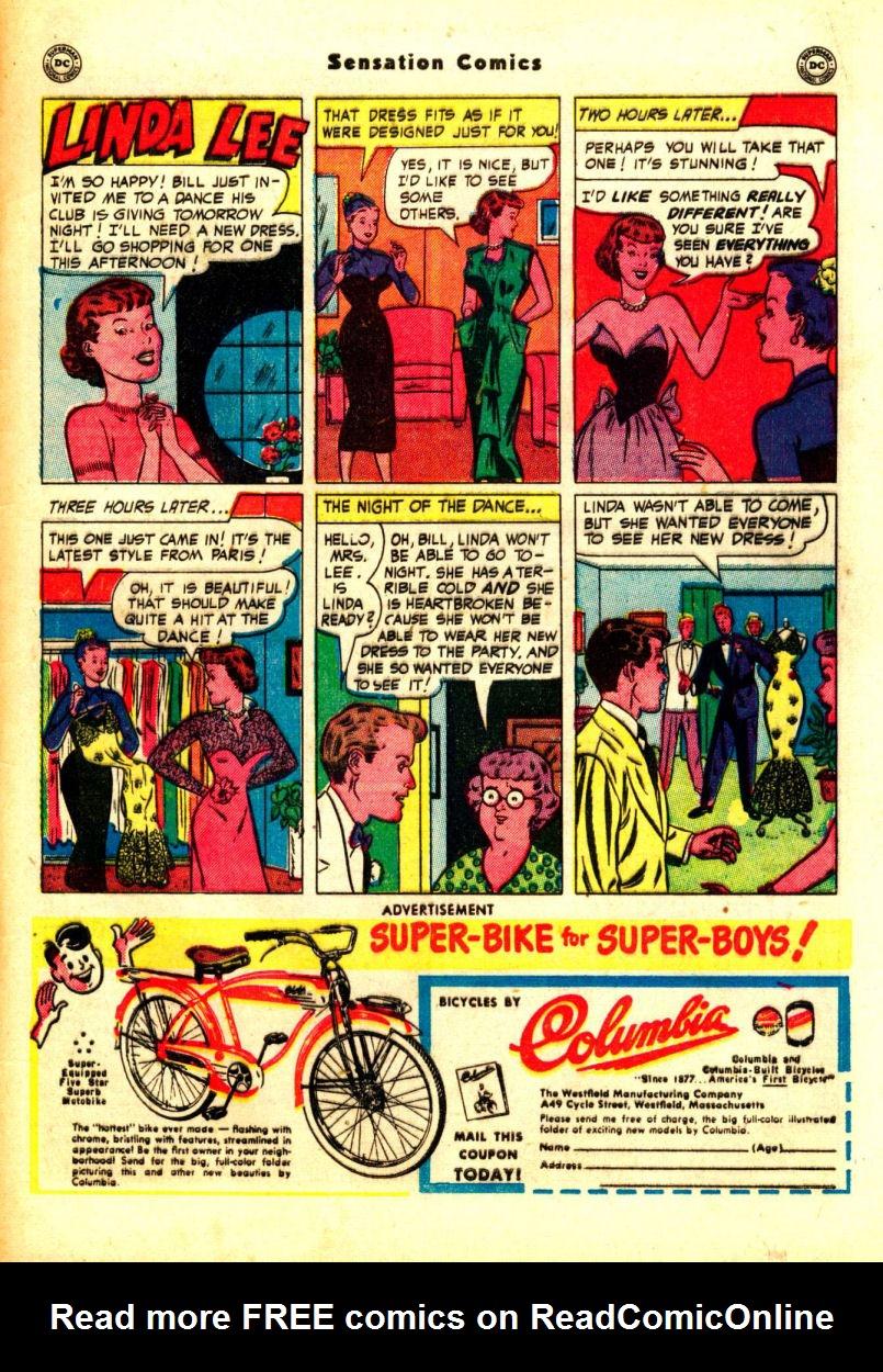 Read online Sensation (Mystery) Comics comic -  Issue #99 - 49