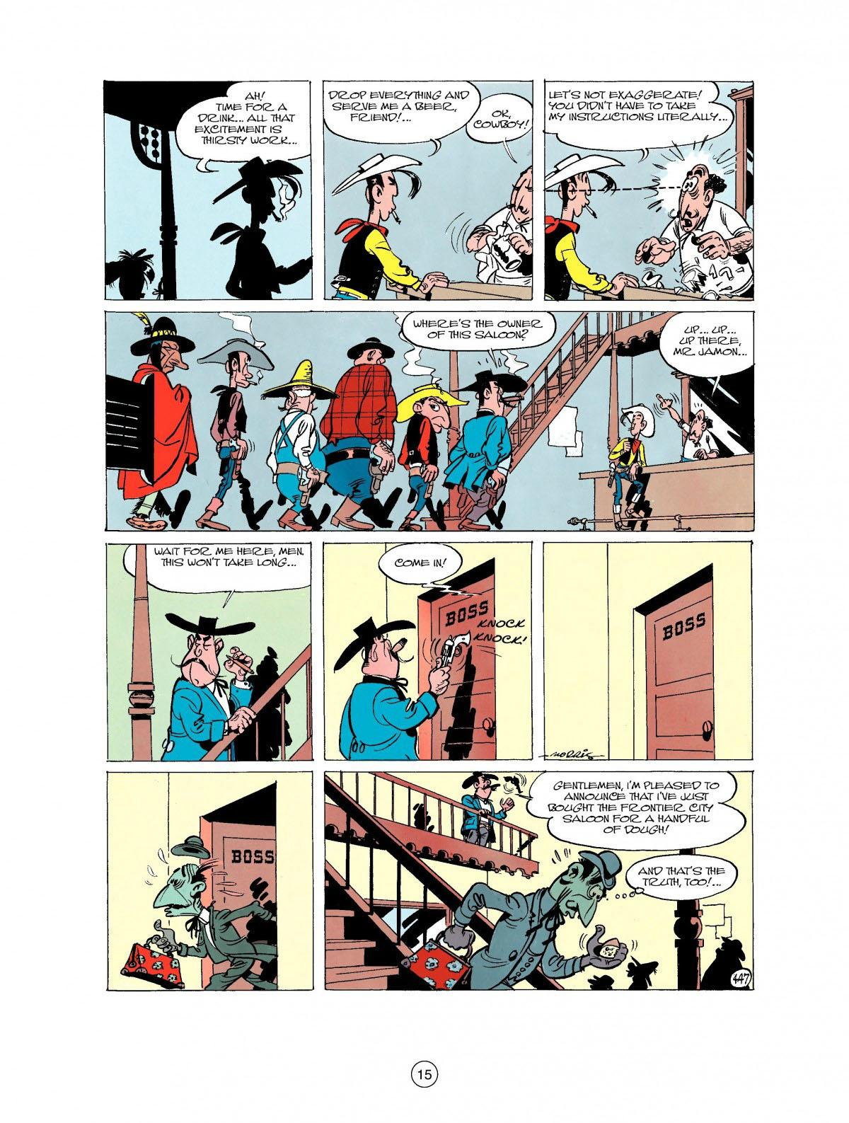 Read online A Lucky Luke Adventure comic -  Issue #27 - 16