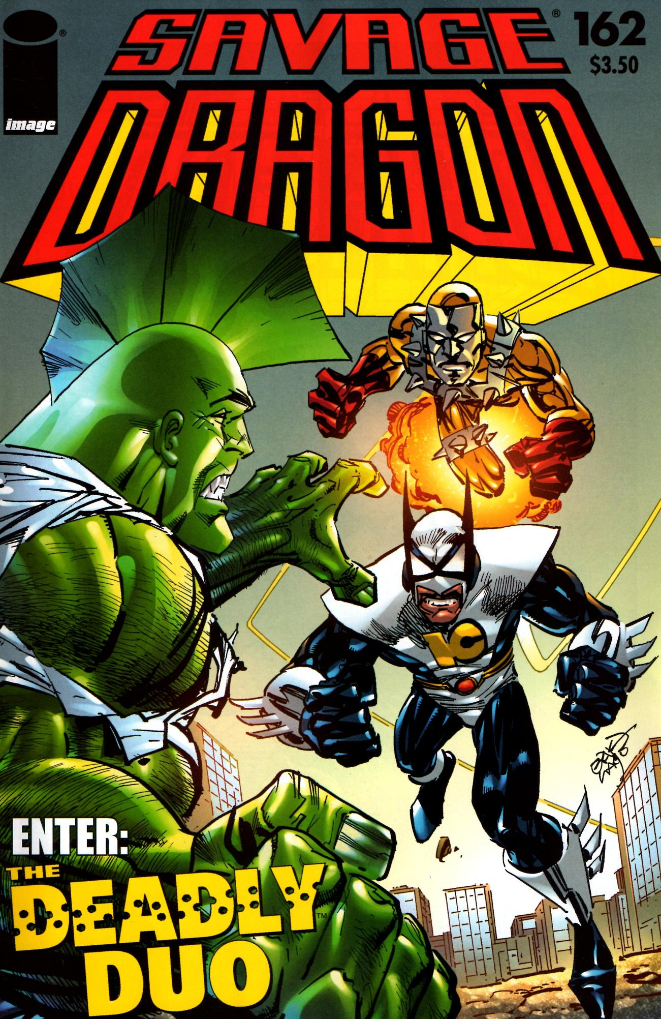 The Savage Dragon (1993) 162 Page 1