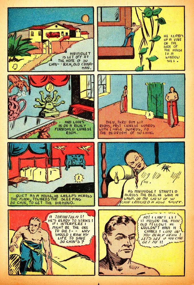 Read online Amazing Man Comics comic -  Issue #12 - 22