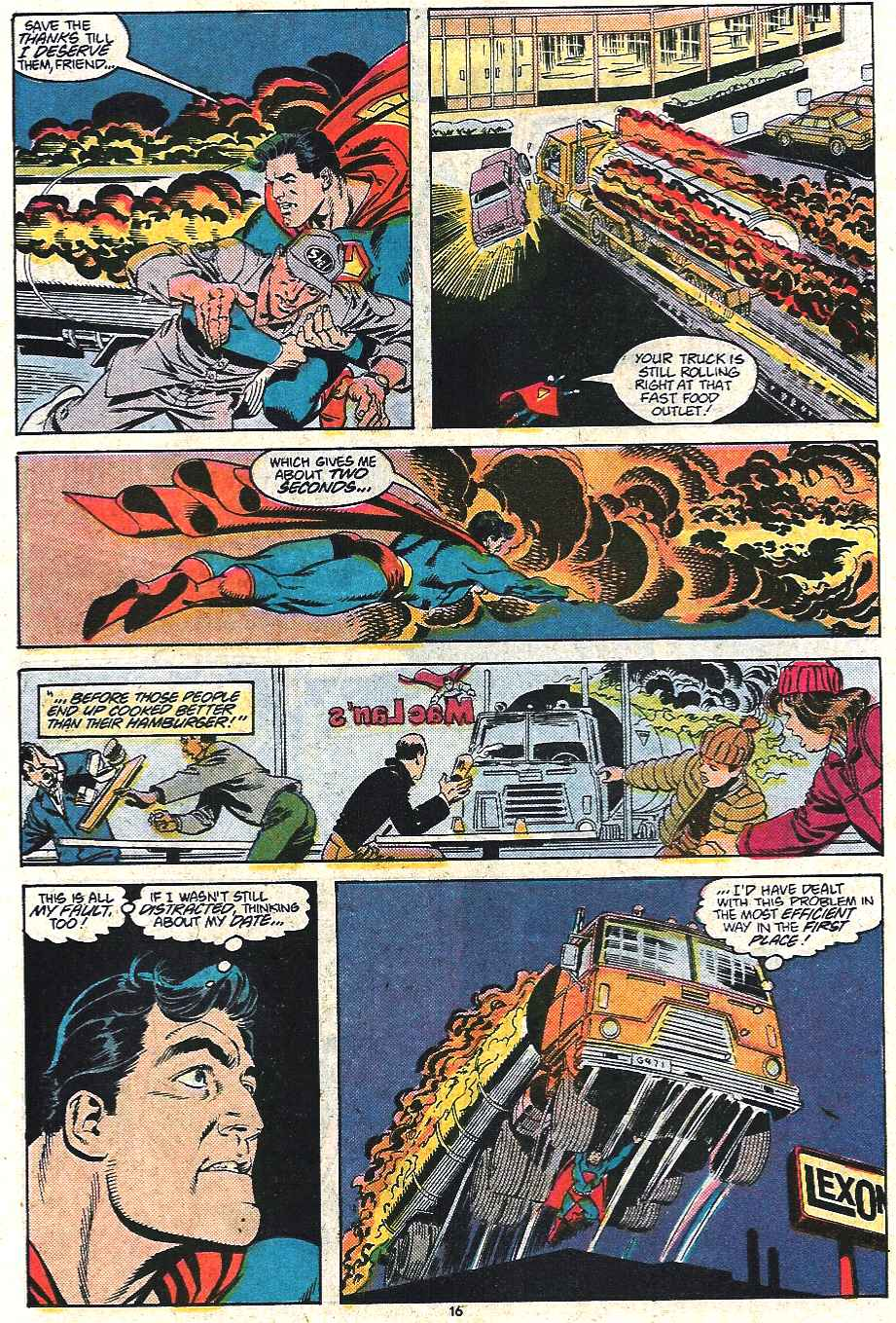 Read online Adventures of Superman (1987) comic -  Issue #440 - 17
