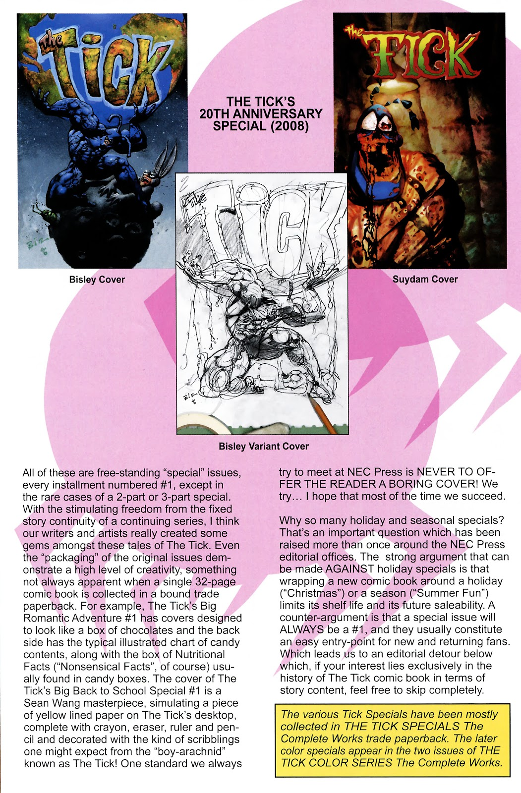 Read online The Tick comic -  Issue #101 - 36