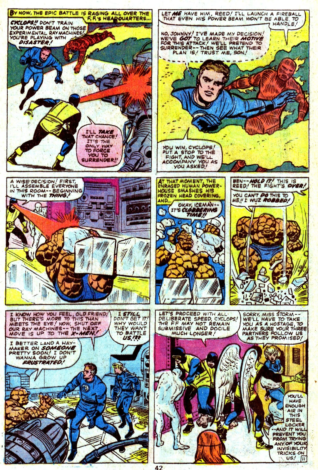 Giant-Size Fantastic Four issue 4 - Page 44